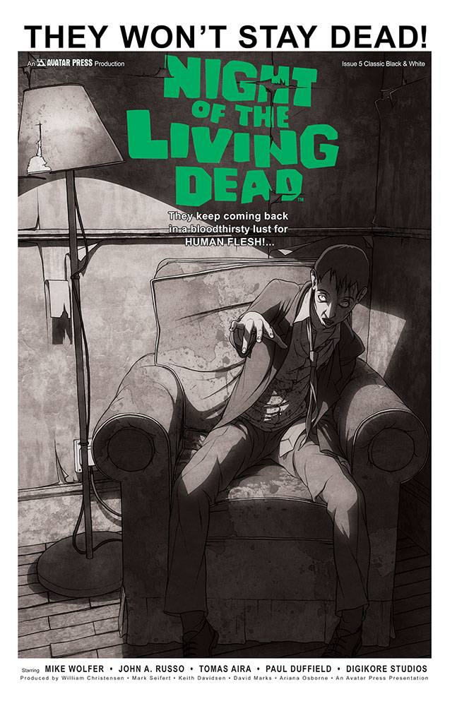 NIGHT OF THE LIVING DEAD #5 CLASSIC VAR (MR)