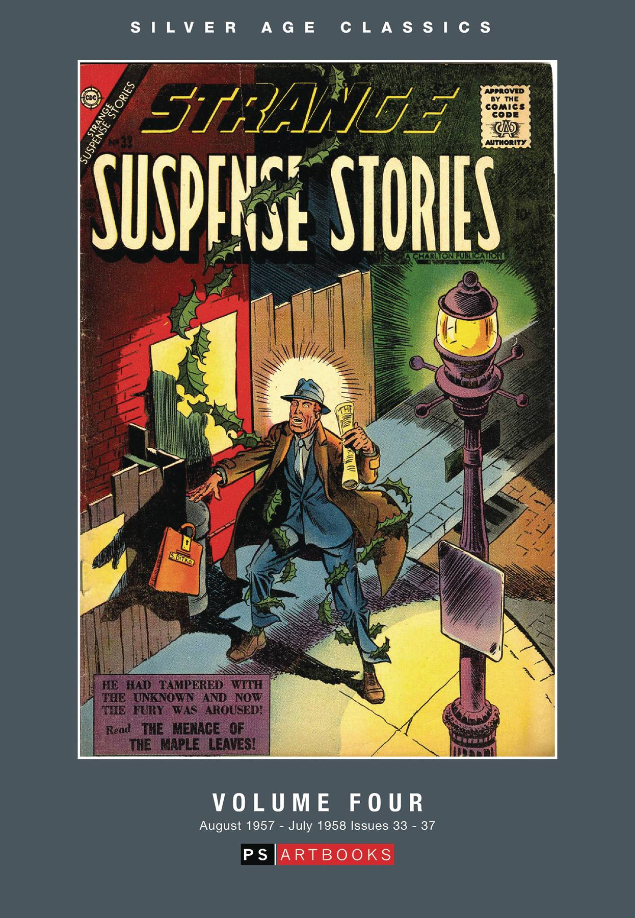 SILVER AGE CLASSICS STRANGE SUSPENSE STORIES HC VOL 04