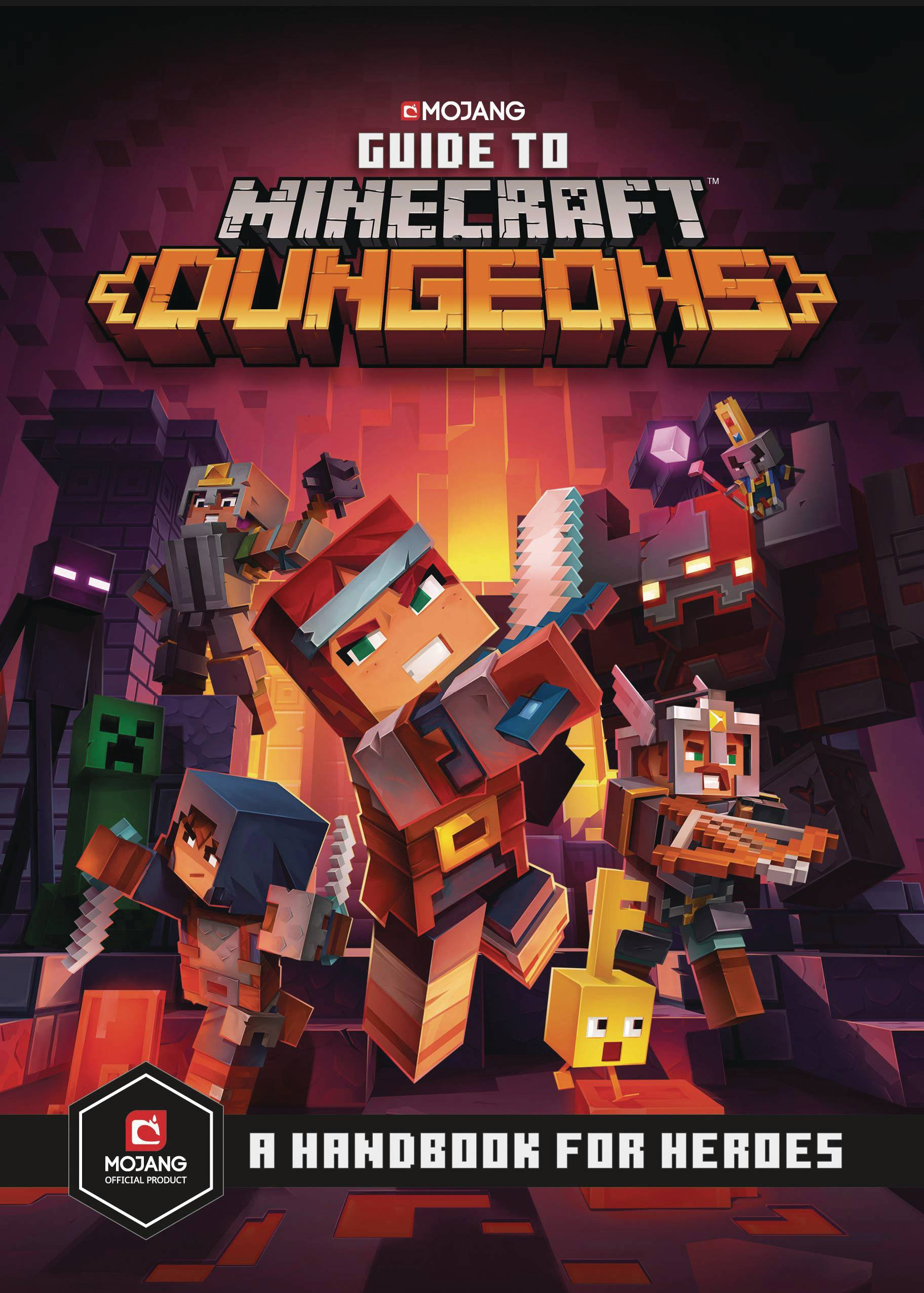 MAR201807 GUIDE TO MINECRAFT DUNGEONS HC Previews World