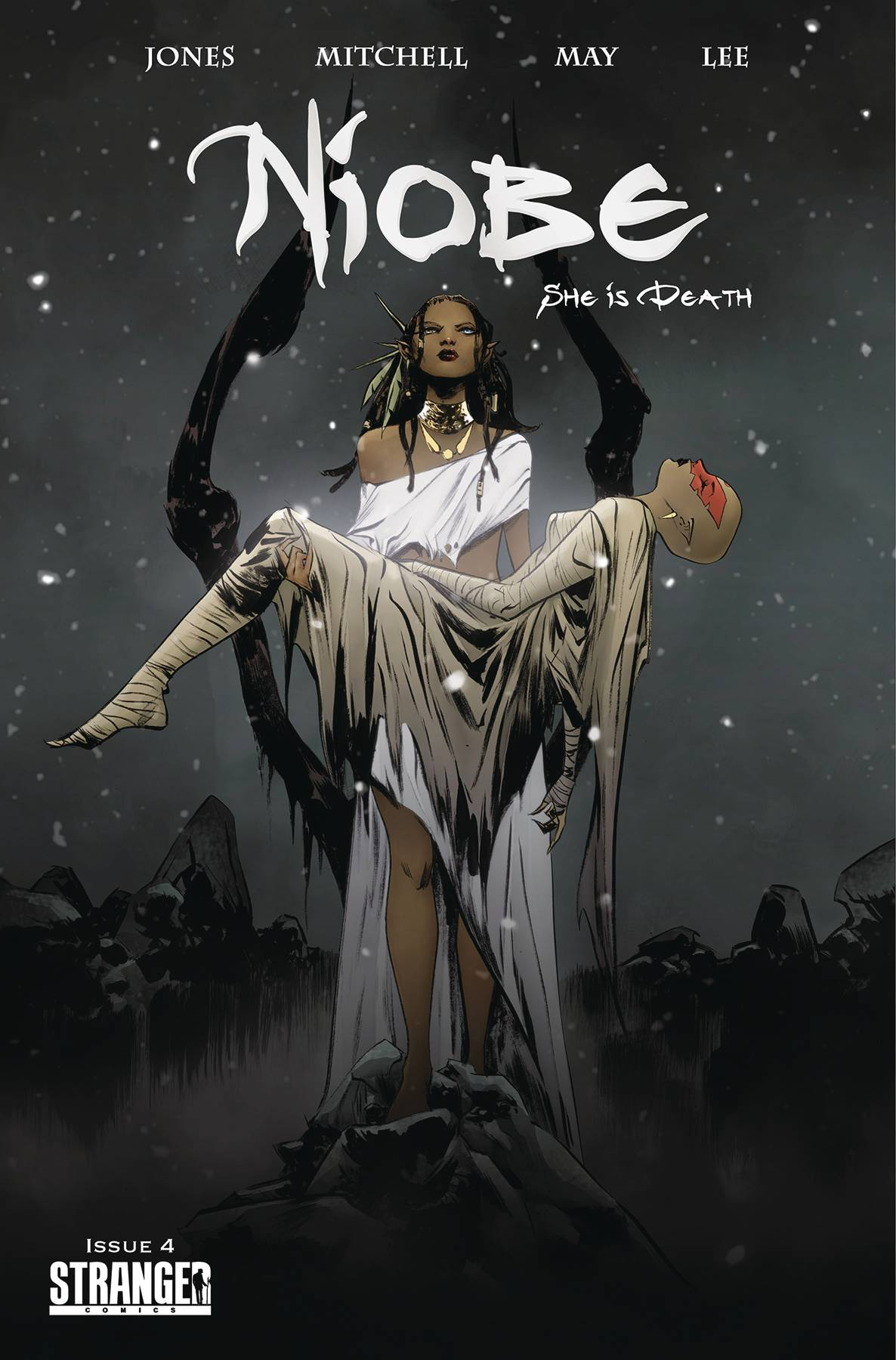 NIOBE SHE IS DEATH #4 CVR B JAE LEE
