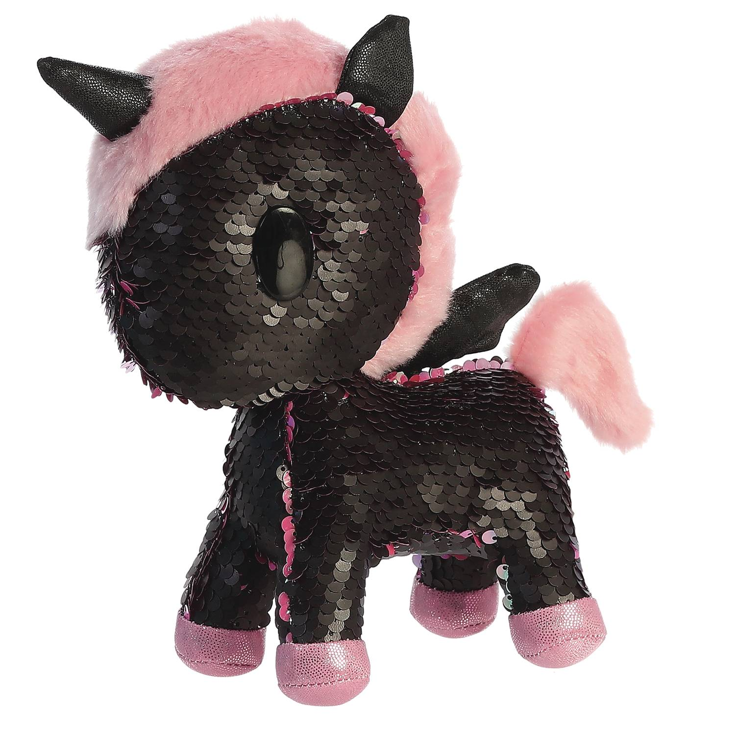 TOKIDOKI UNICORNO SEQUIN DJ SPARKLE 7.5IN PLUSH