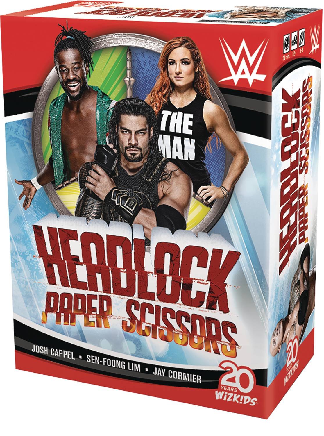 WWE HEADLOCK PAPER SCISSORS CARD GAME