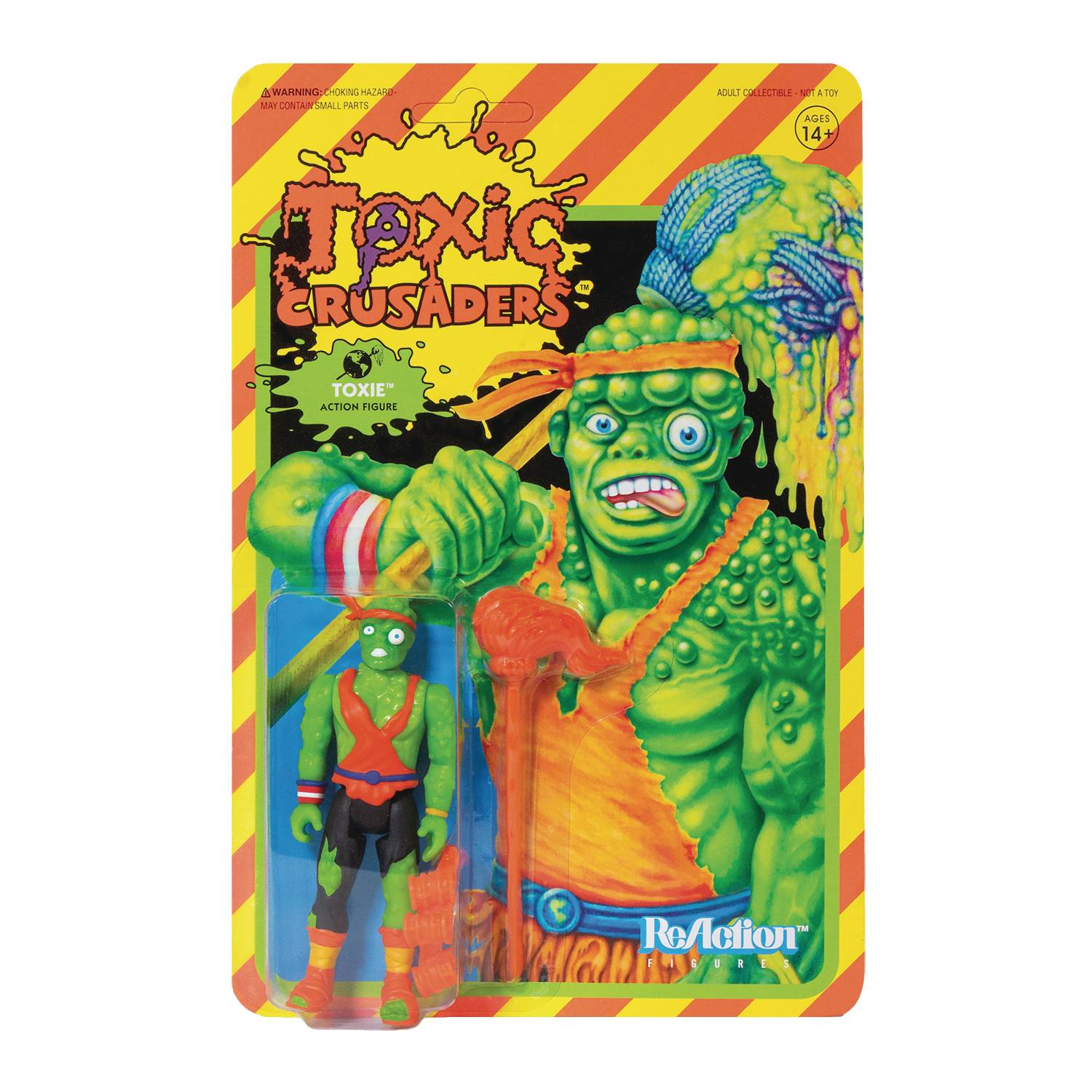 TOXIC CRUSADERS TOXIE REACTION FIGURE