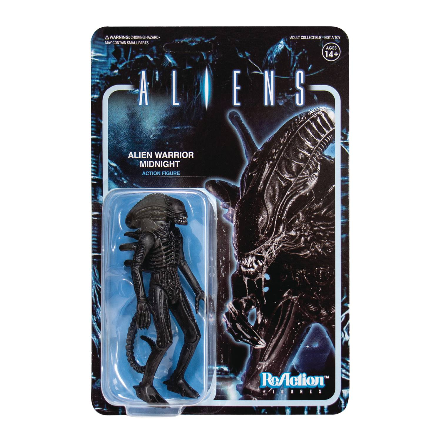 ALIENS WV1 ALIEN WARRIOR MIDNIGHT REACTION FIGURE