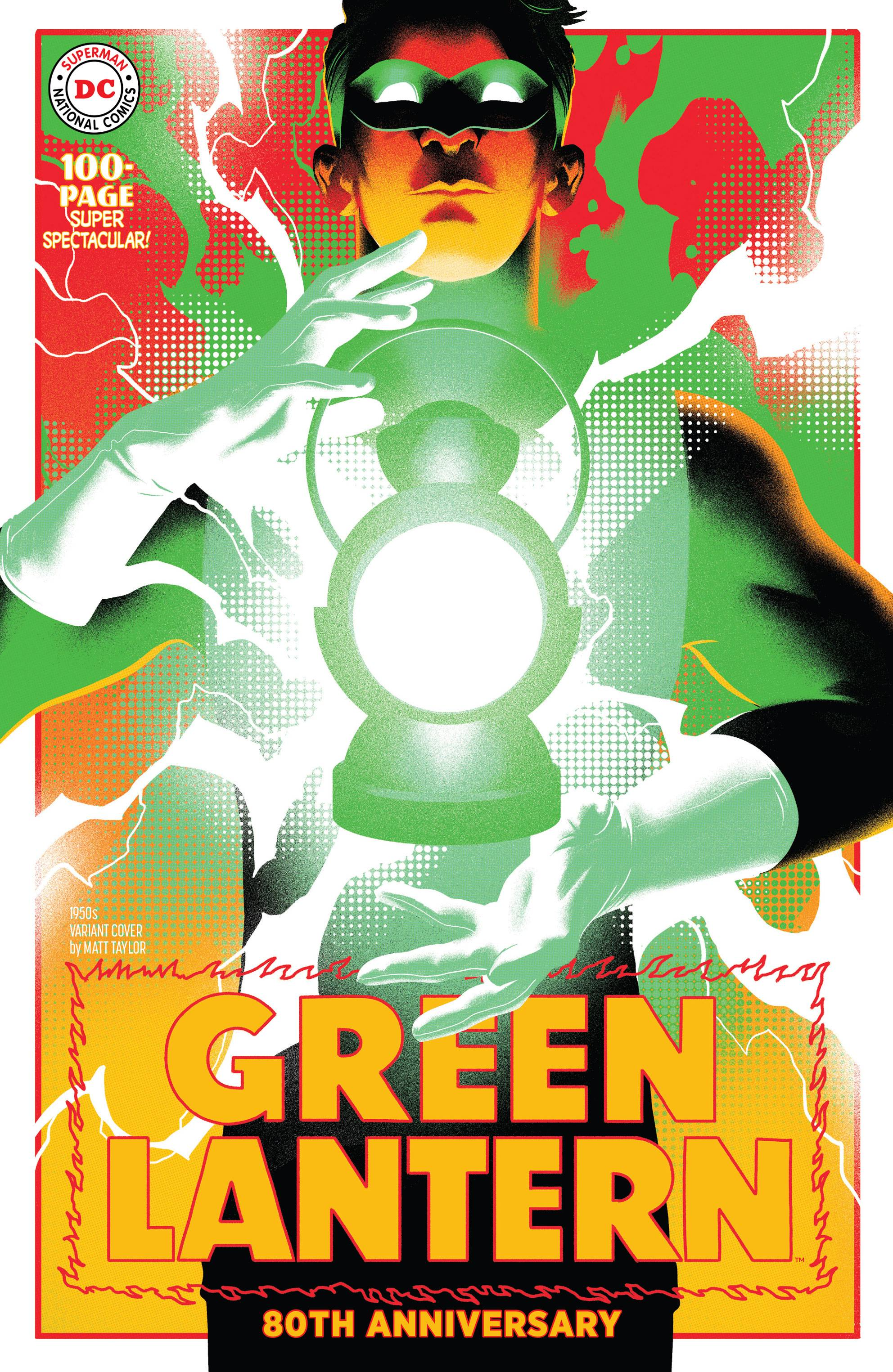 GREEN LANTERN 80TH ANNIV 100 PAGE SUPER SPECT #1 1950S VAR E