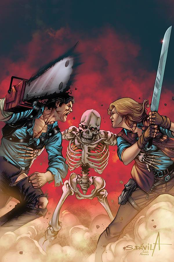 DEATH TO ARMY OF DARKNESS #4 DAVILA LTD VIRGIN CVR