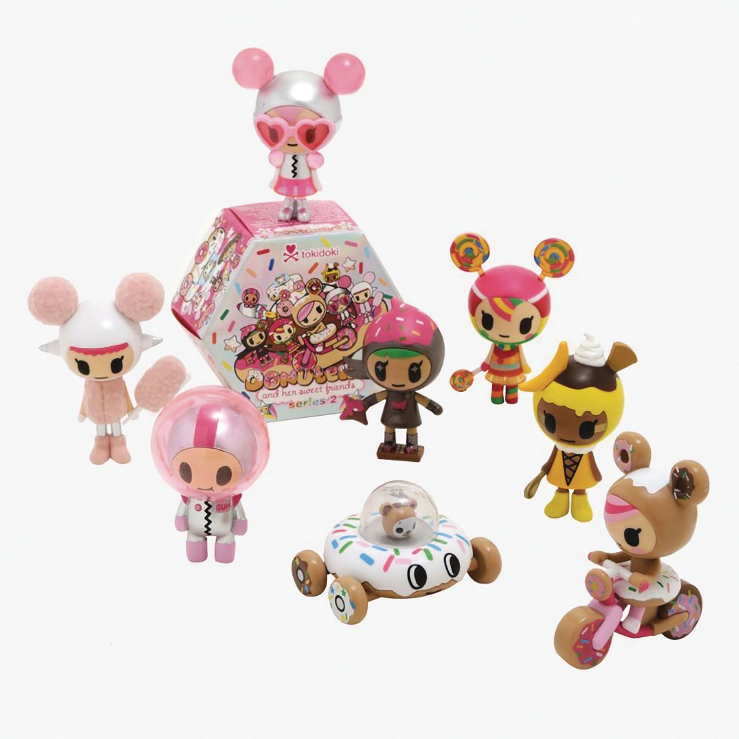 DONUTELLA AND HER SWEET FRIENDS SERIES 3 12PC BMB DS