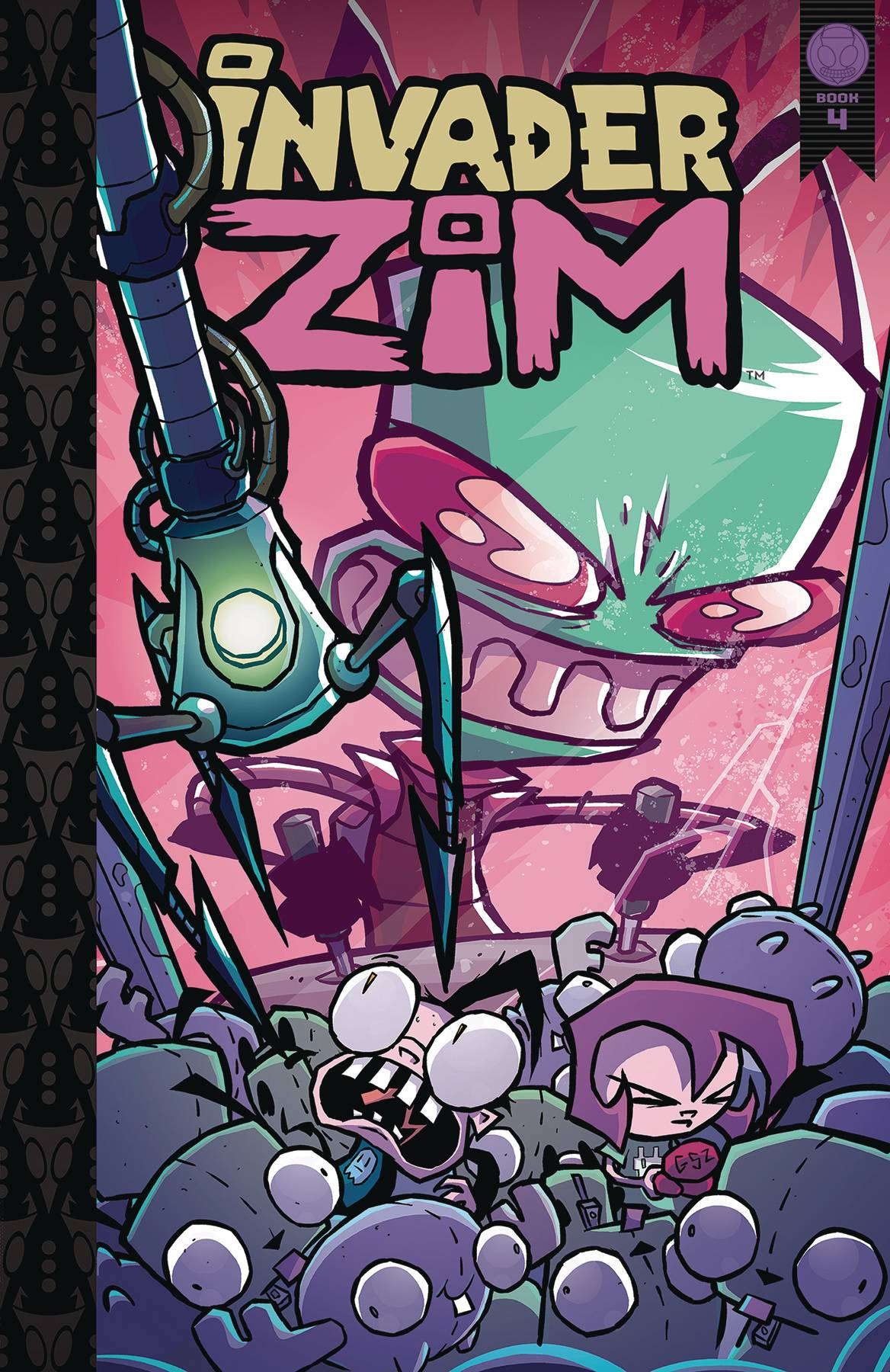 INVADER ZIM HC VOL 04 DLX ED