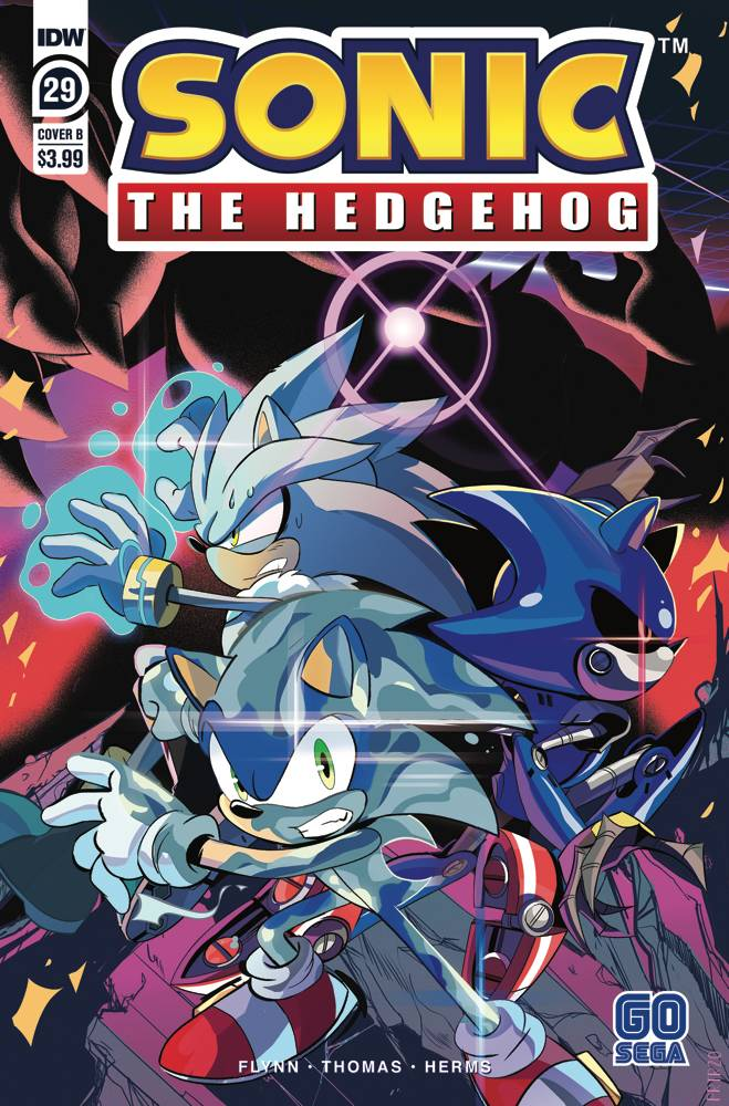 Mar200754 Sonic The Hedgehog 29 Cvr B Tramontano Previews World