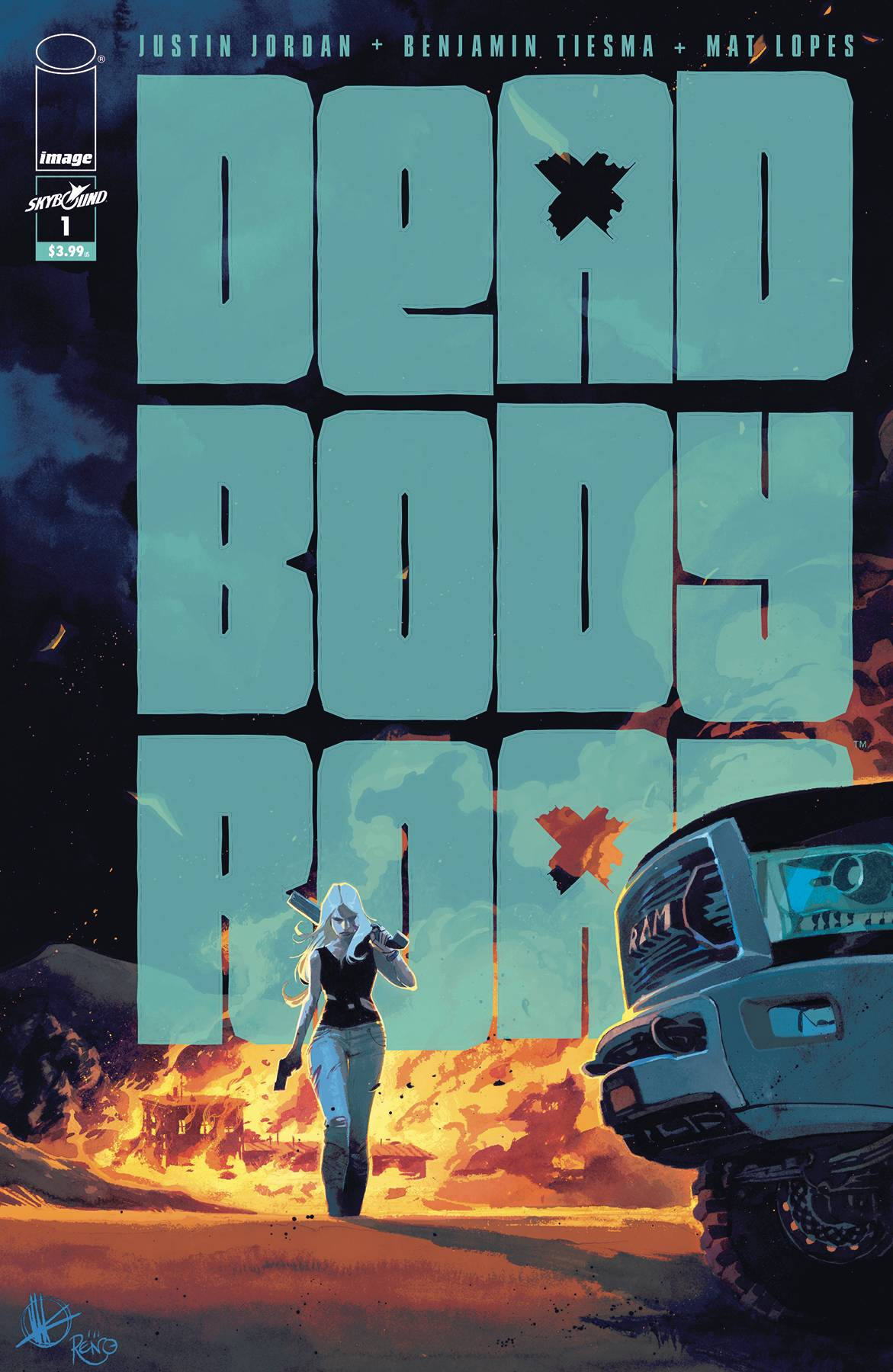 DEAD BODY ROAD BAD BLOOD #1 (OF 6) (MR)
