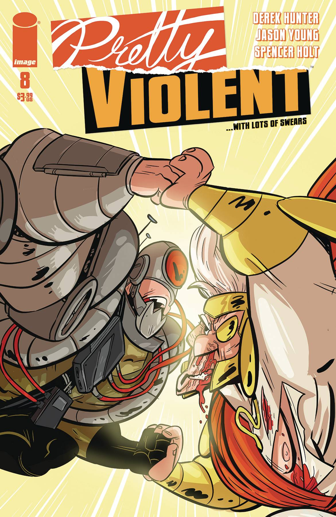PRETTY VIOLENT #8 (RES) (MR)