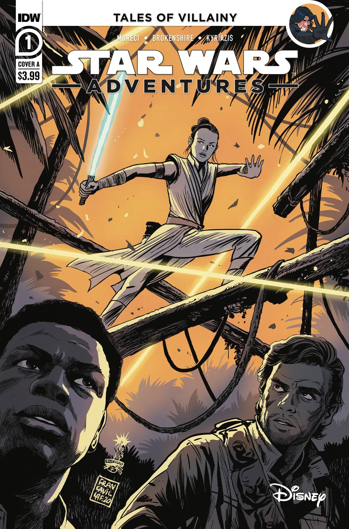 STAR WARS ADVENTURES (2020) #1 CVR A FRANCAVILLA (RES)