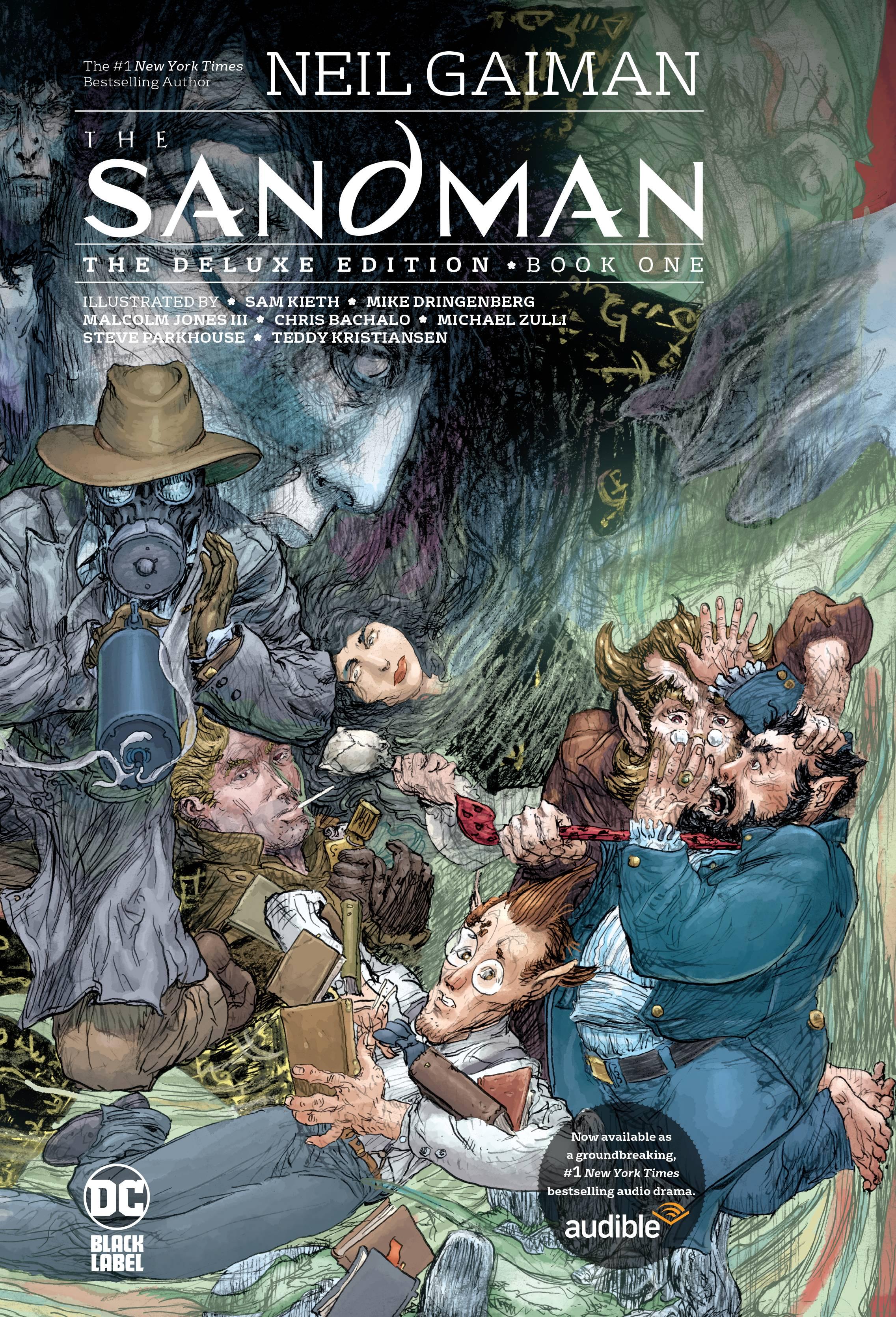 SANDMAN THE DELUXE ED HC BOOK 01 (MR)