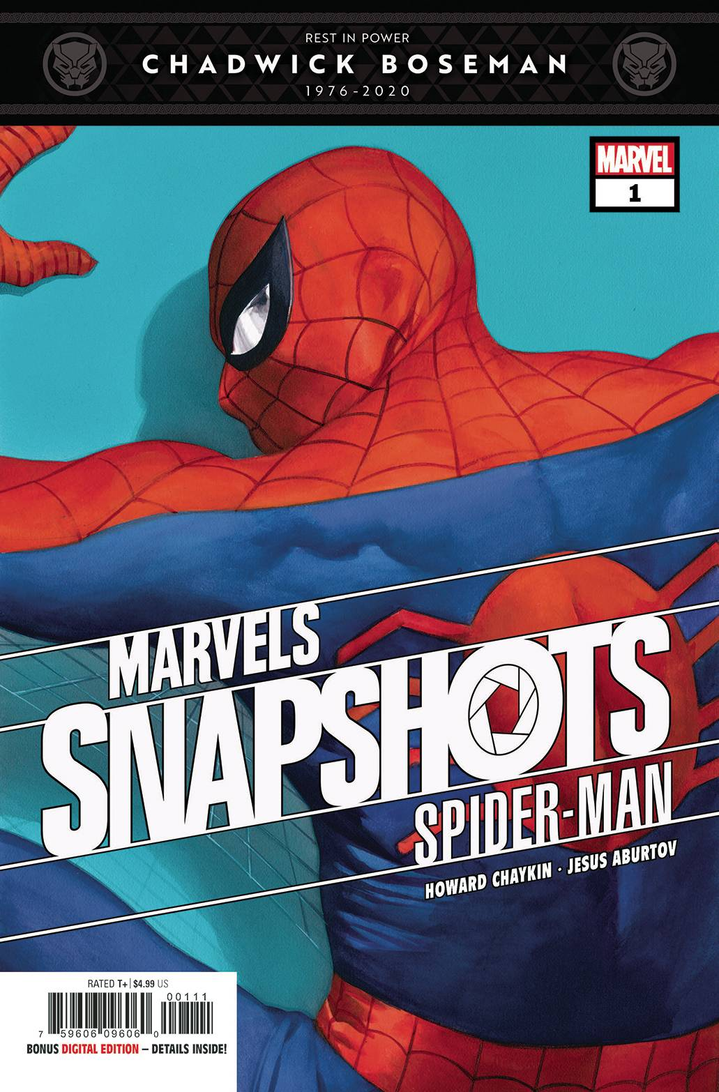 SPIDER-MAN MARVELS SNAPSHOT #1