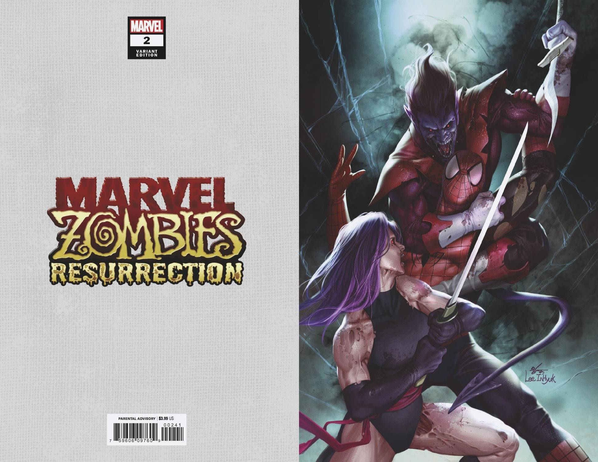 MARVEL ZOMBIES RESURRECTION #2 (OF 4) INHYUK LEE VIRGIN VAR