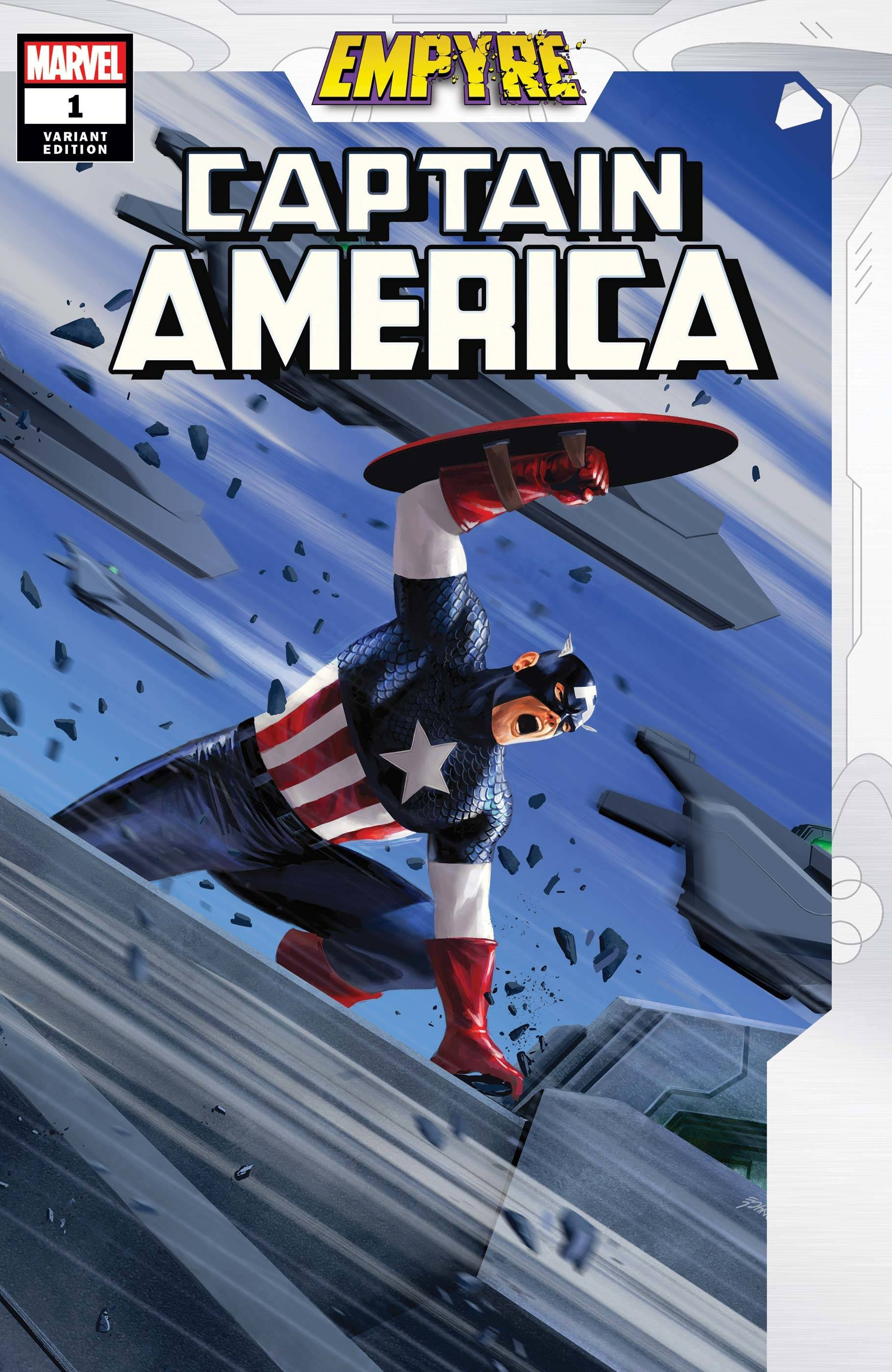 EMPYRE CAPTAIN AMERICA #1 (OF 3) EPTING VAR