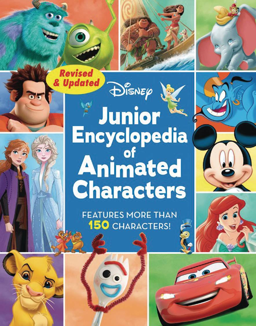 DISNEY JUNIOR ENCYCLOPEDIA ANIMATED CHARACTERS HC REVISED (C