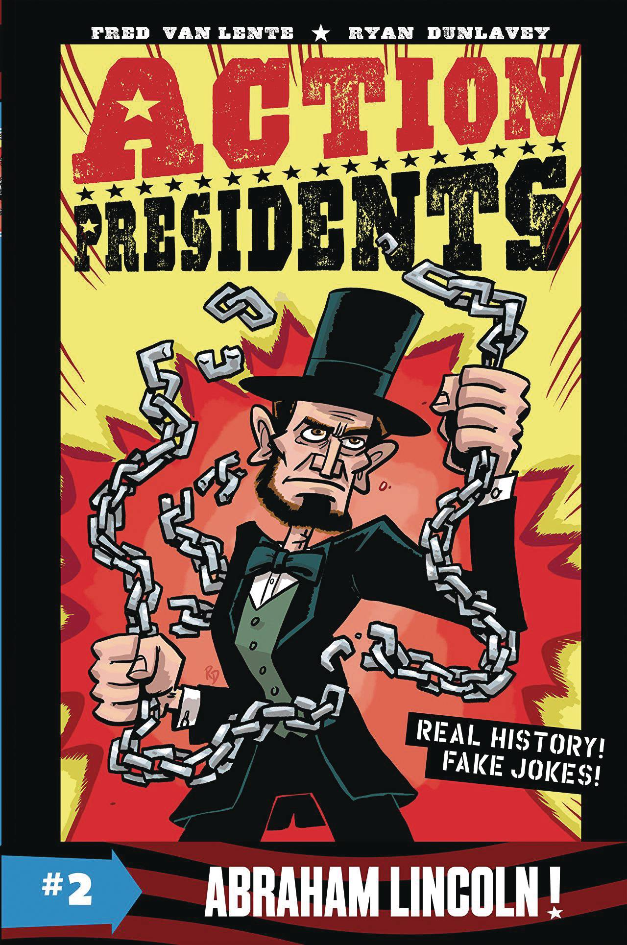 ACTION PRESIDENTS COLOR HC GN VOL 02 ABRAHAM LINCOLN