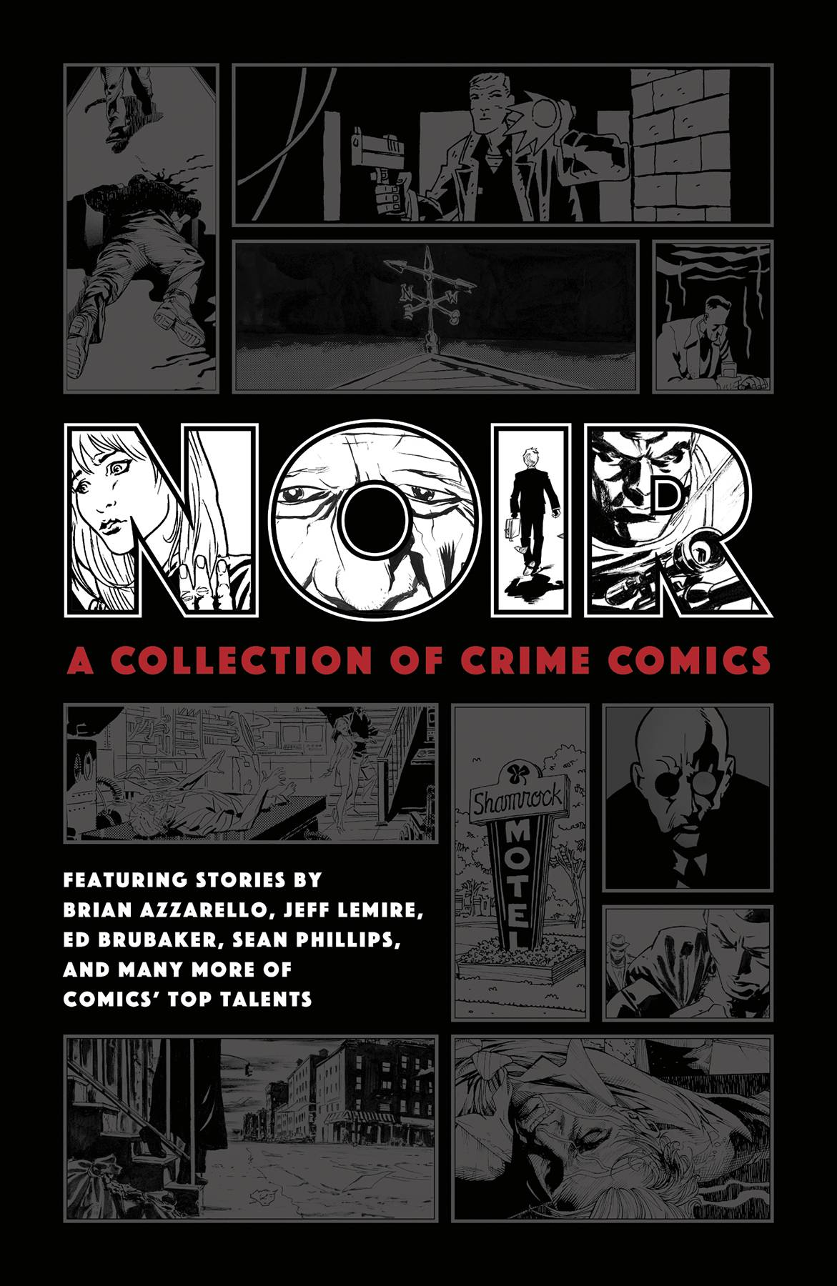 NOIR COLLECTION OF CRIME COMICS HC (RES)