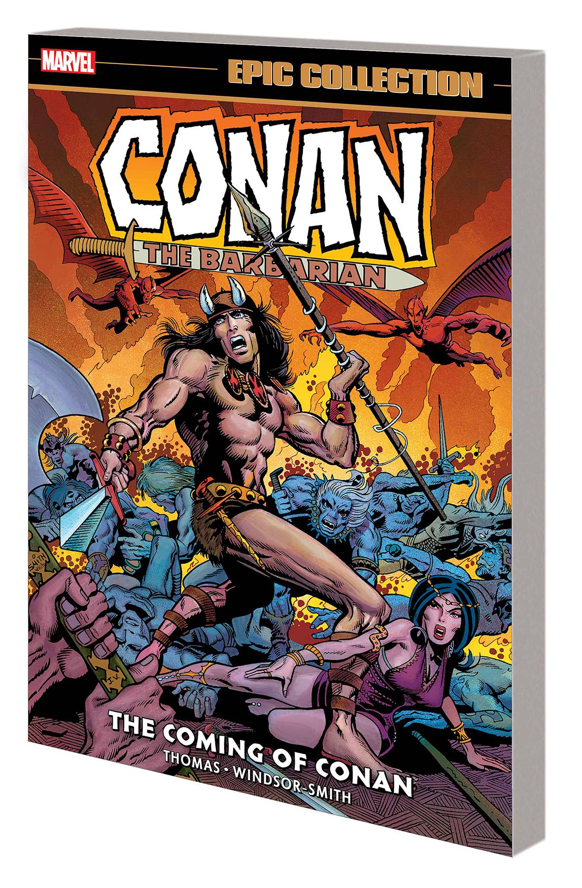 CONAN BARBARIAN ORIG MARVEL YRS EPIC COLL TP COMING OF CONAN