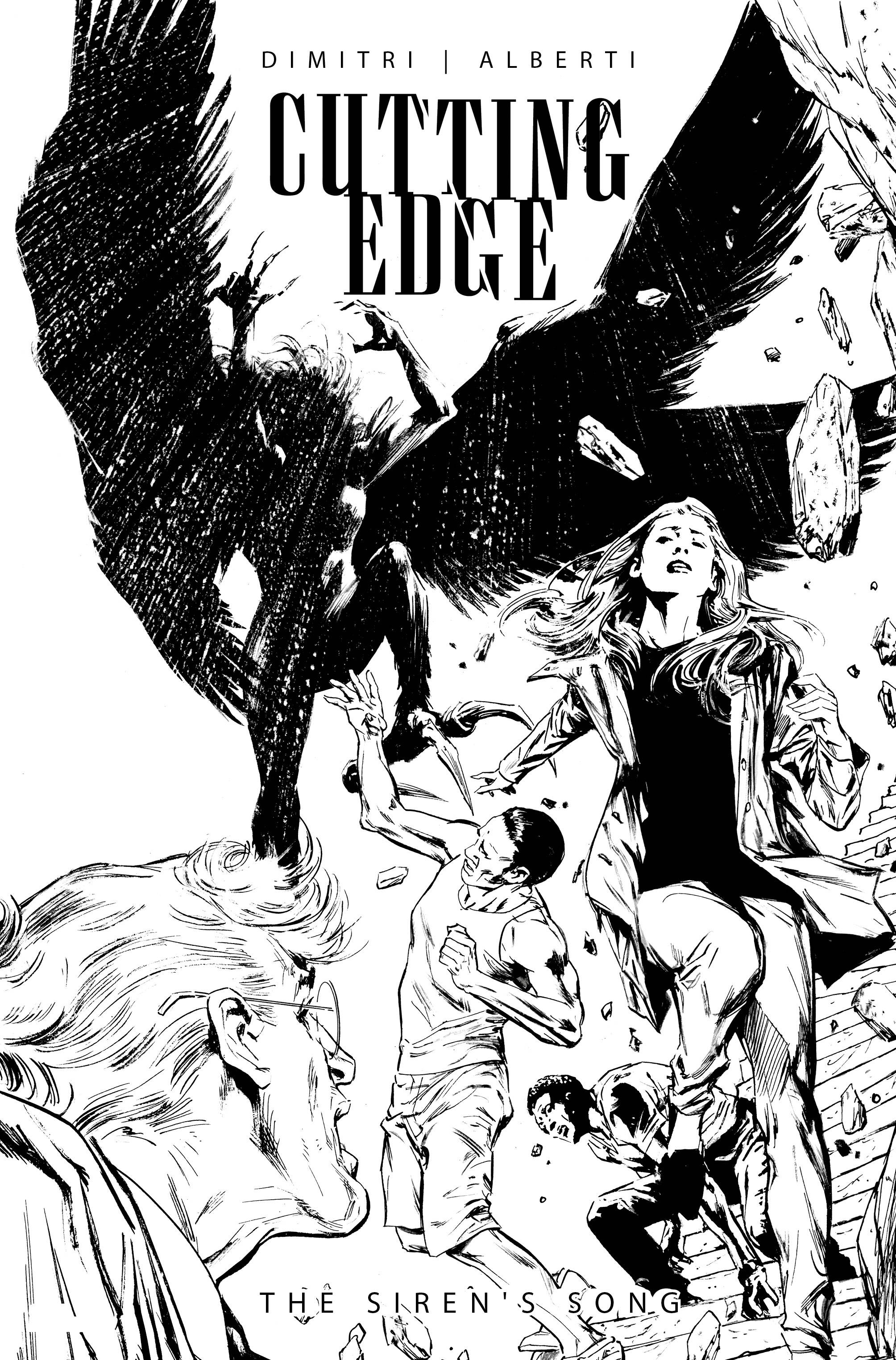 CUTTING EDGE SIRENS SONG #1 CVR C GUICE B&W (RES) (MR)