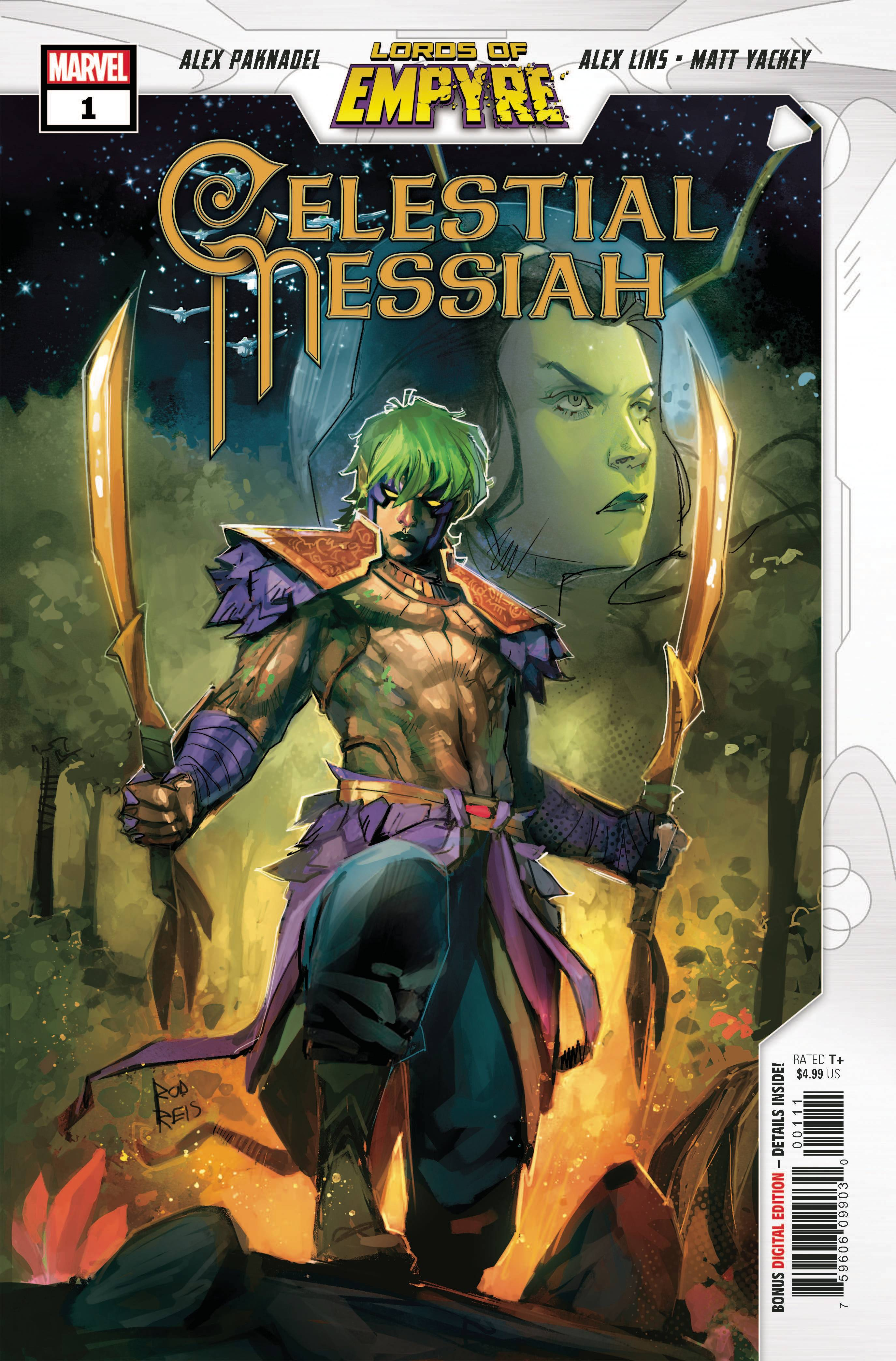 LORDS OF EMPYRE CELESTIAL MESSIAH #1