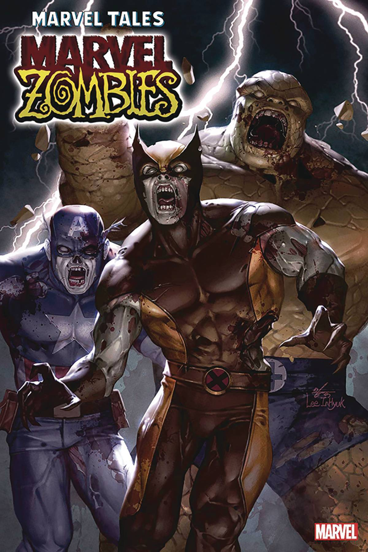 DF MARVEL TALES ORIGINAL MARVEL ZOMBIES #1 LAND SGN
