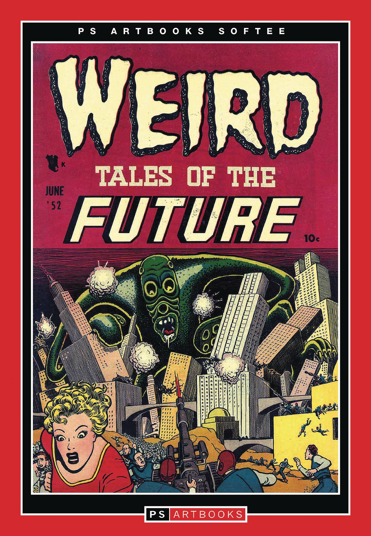 PS ARTBOOKS WEIRD TALES OF FUTURE SOFTEE VOL 01