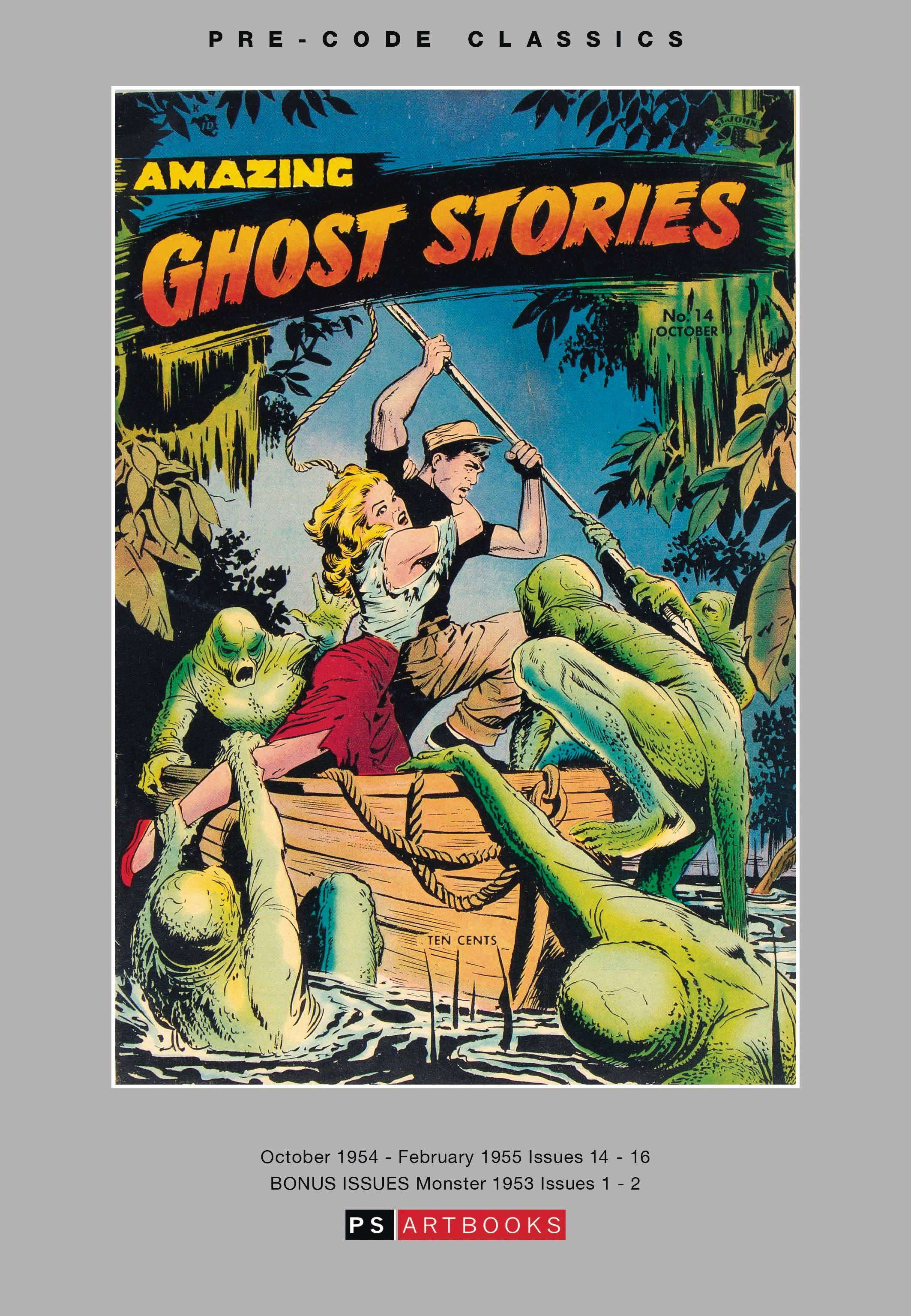 PRE CODE CLASSICS AMAZING GHOST STORIES HC VOL 01