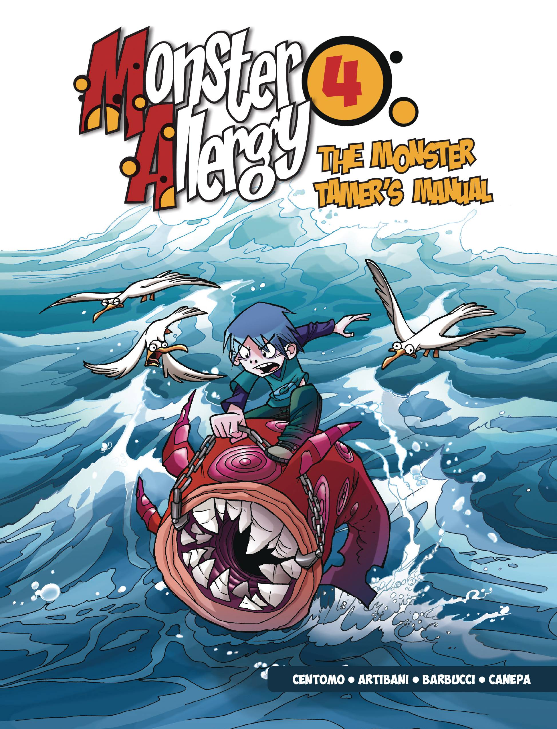 MONSTER ALLERGY GN VOL 04 MONSTER TAMERS MANUAL