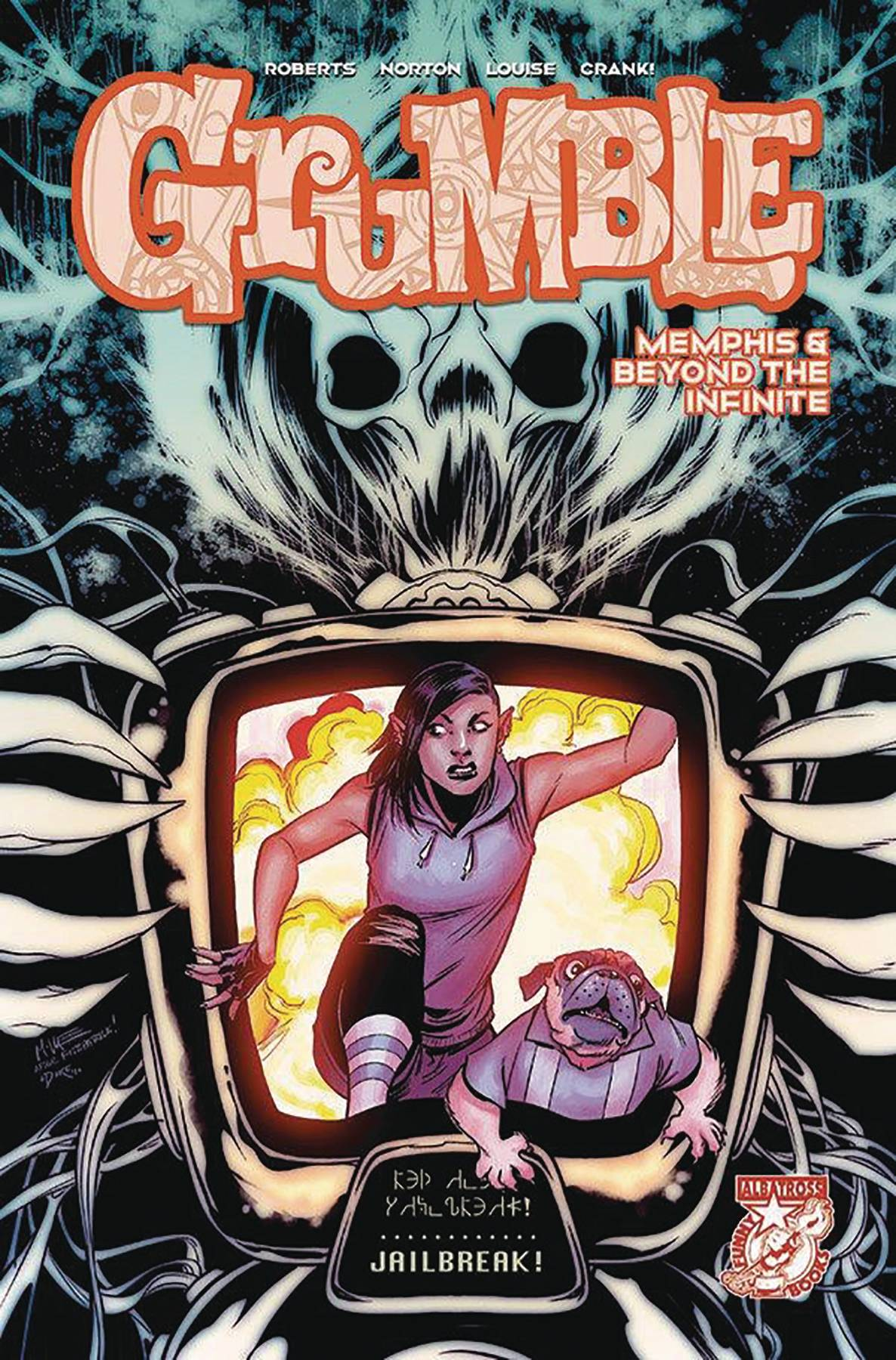 GRUMBLE MEMPHIS & BEYOND THE INFINITE #4 (OF 5) (RES)