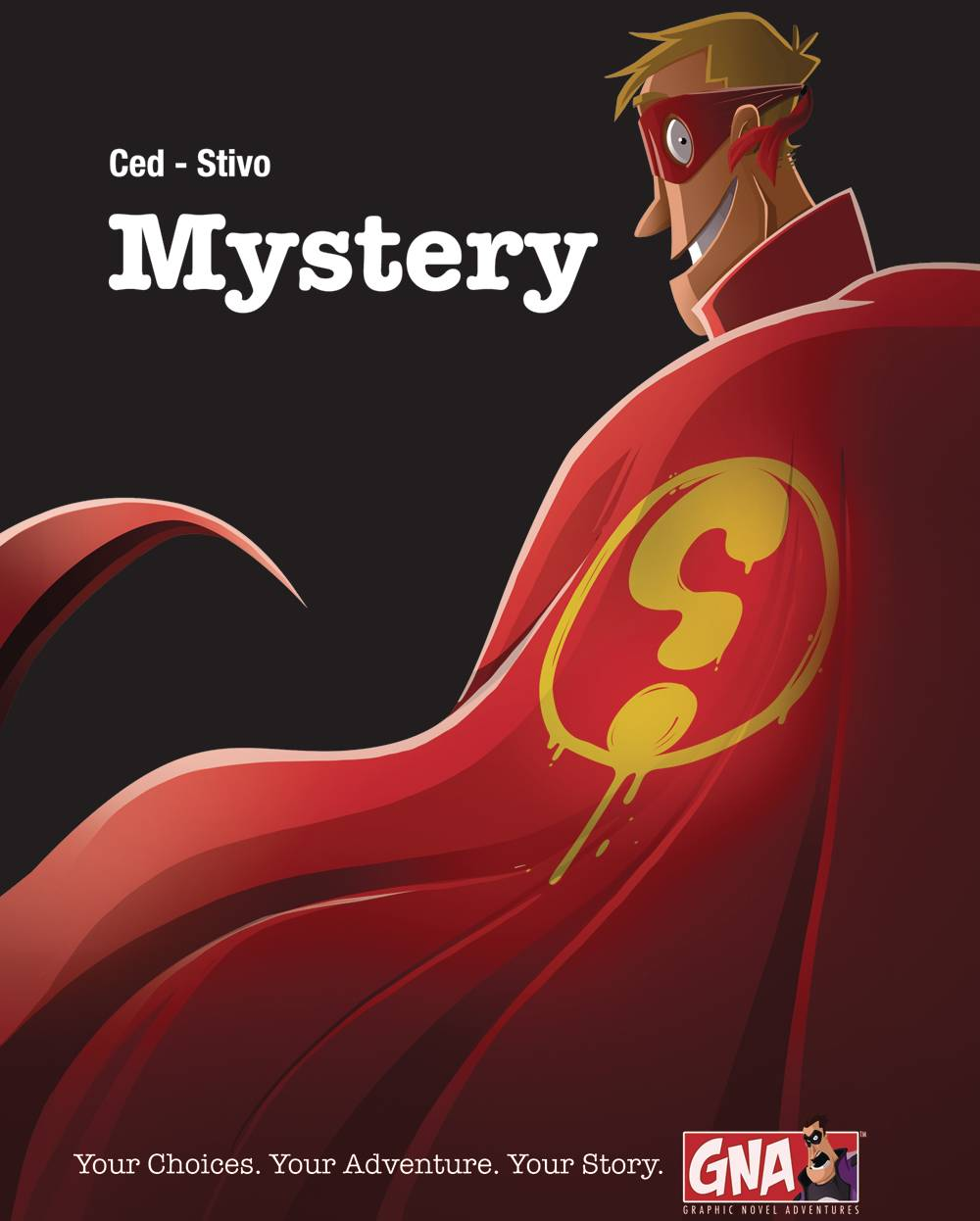 MYSTERY GRAPHIC NOVEL ADV HC