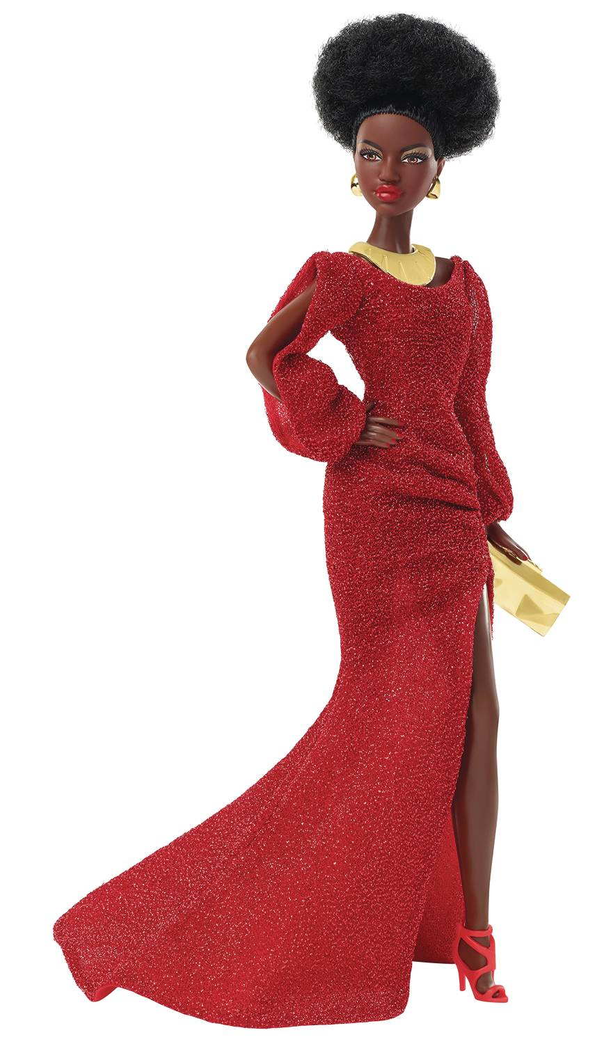 BARBIE 40TH ANNIVERSARY 1ST BLACK BARBIE DOLL