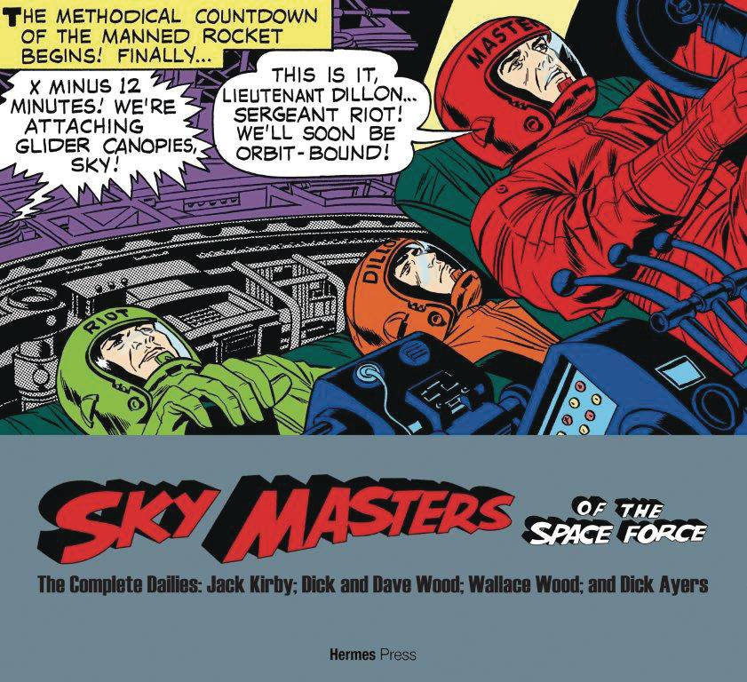 SKY MASTERS OF SPACE FORCE COMP DAILIES 1958-1961 SC