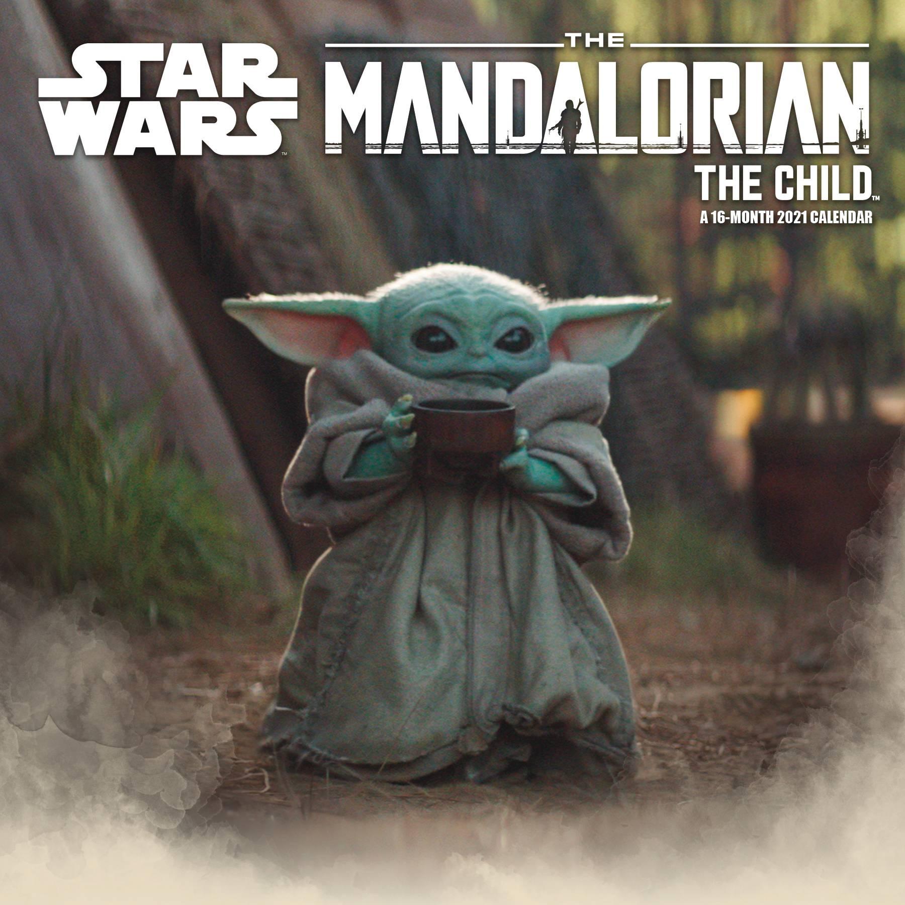 Star Wars les Mandaloriens l/'enfant Cutest dans la galaxie Horloge Murale 25 cm
