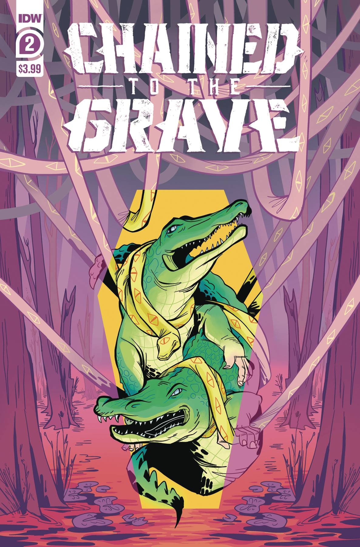 CHAINED TO THE GRAVE #2 (OF 5) CVR A SHERRON (RES)