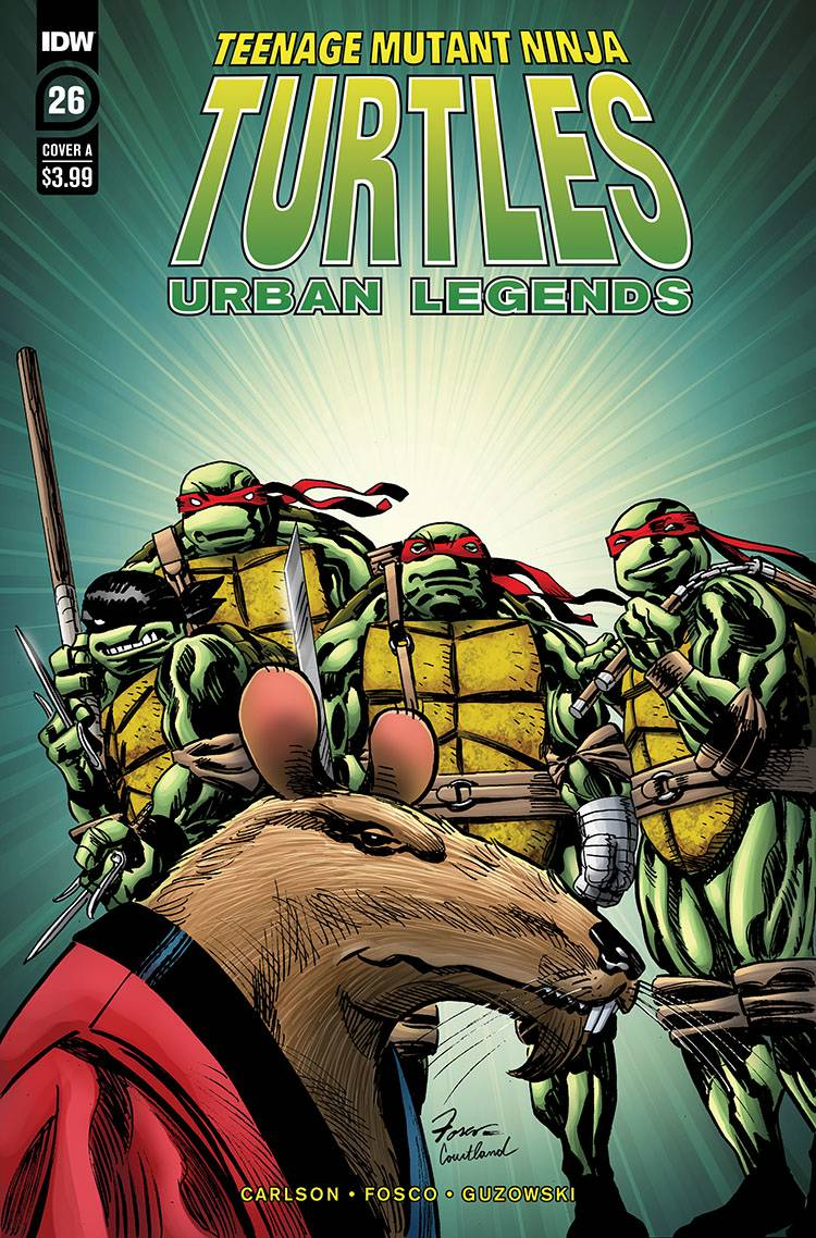TMNT URBAN LEGENDS #26 CVR A FOSCO