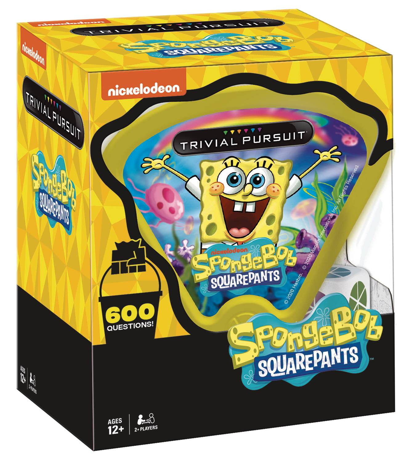 TRIVIAL PURSUIT SPONGEBOB BOARDGAME