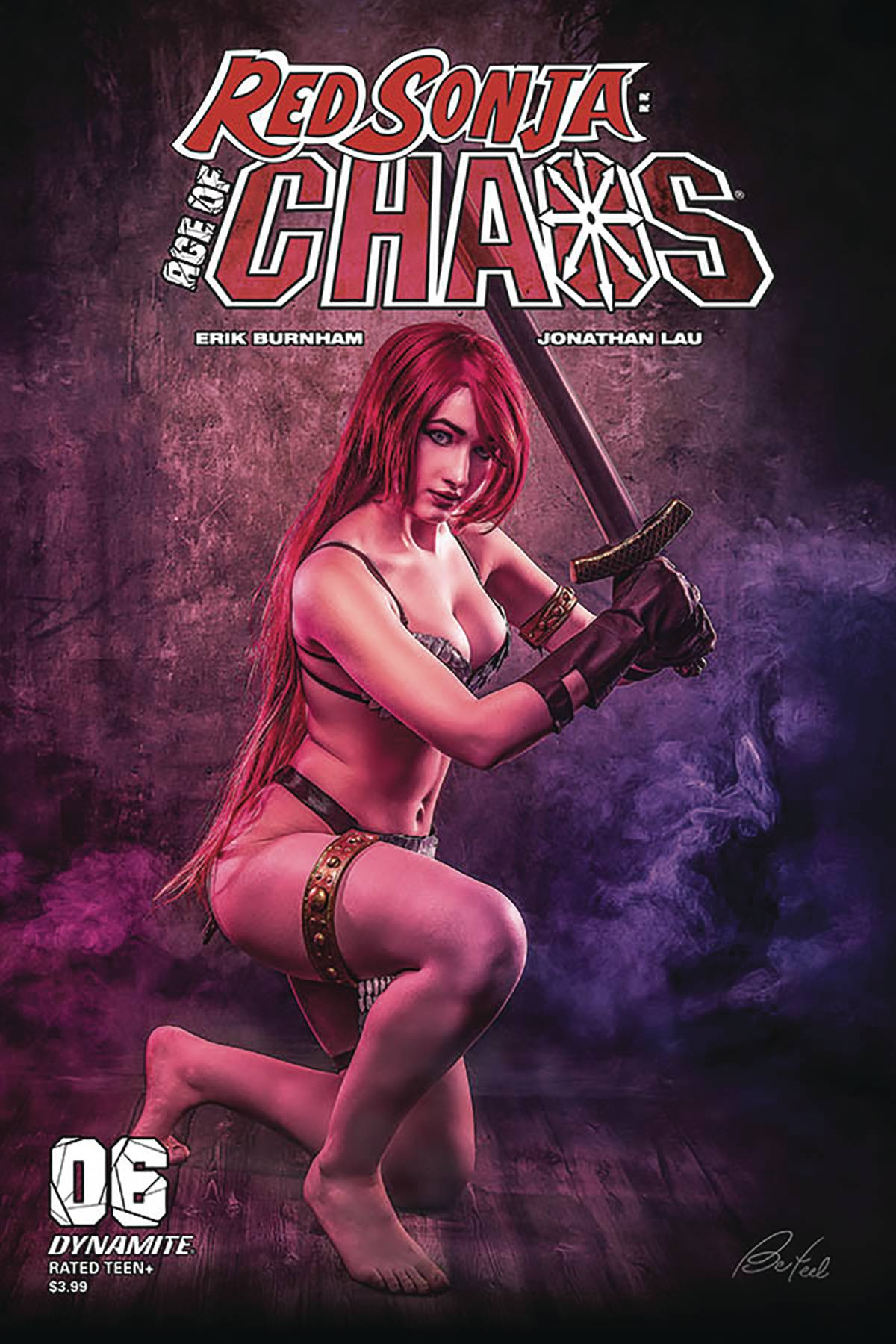 RED SONJA AGE OF CHAOS #6 CVR E BLOOM COSPLAY