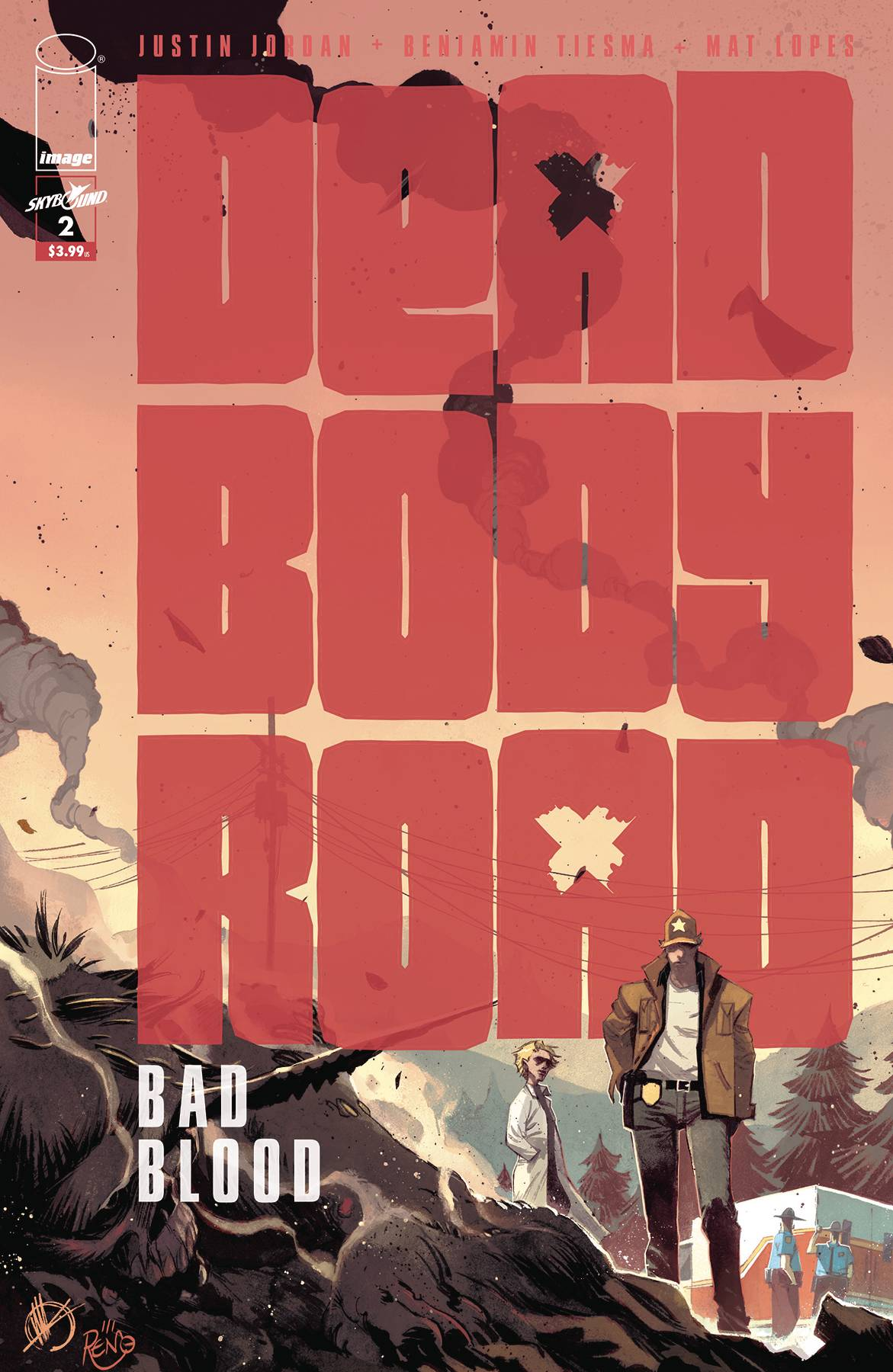 DEAD BODY ROAD BAD BLOOD #2 (OF 6) (MR)