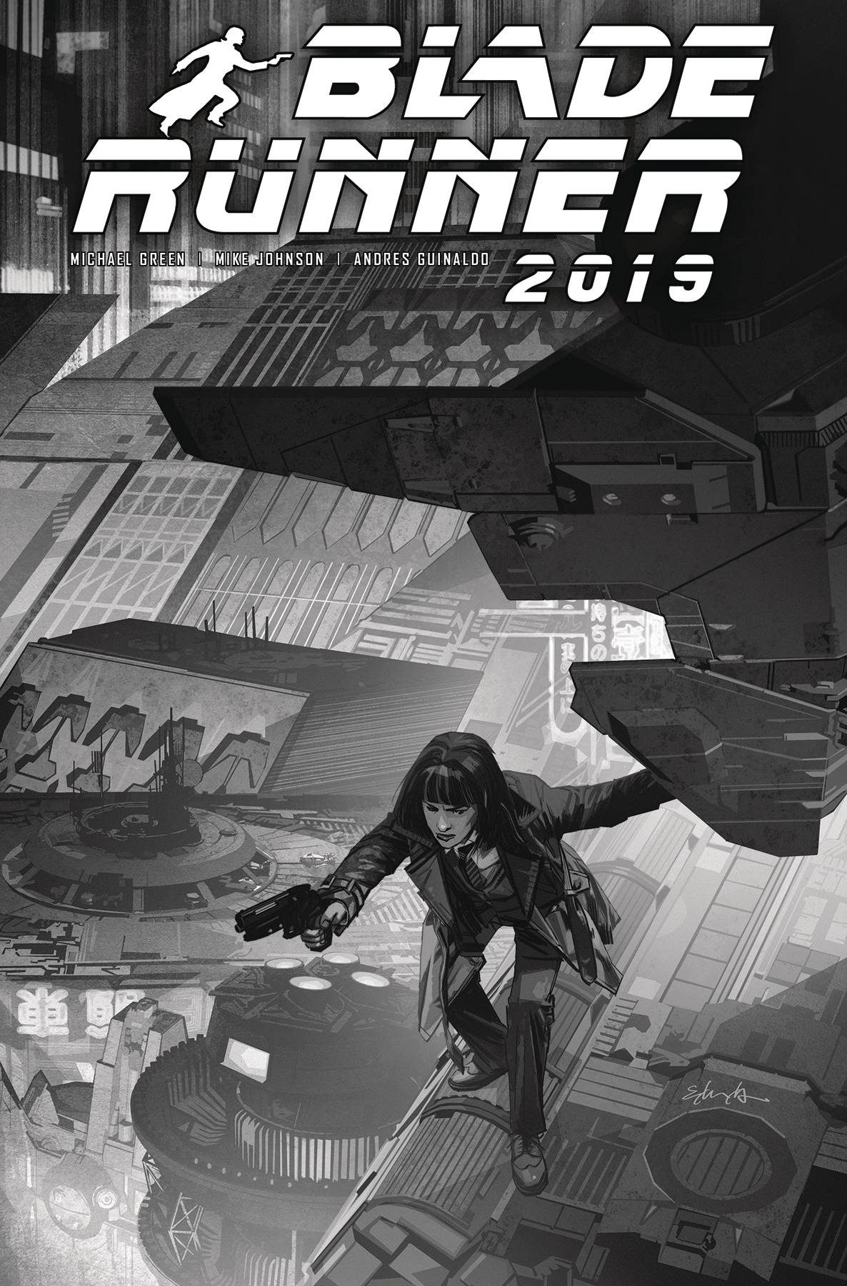 BLADE RUNNER 2019 #9 CVR E EDWARDS B&W (RES) (MR)