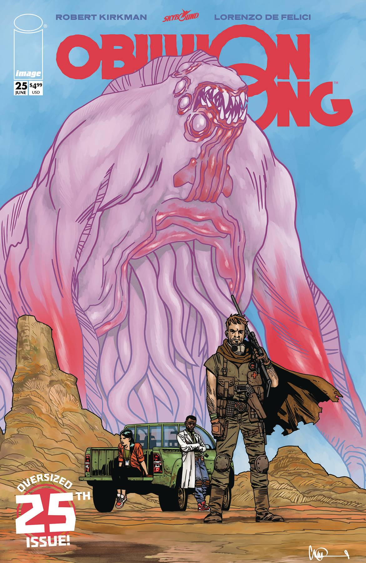 OBLIVION SONG BY KIRKMAN & DE FELICI #25 CVR D ADLARD (MR)