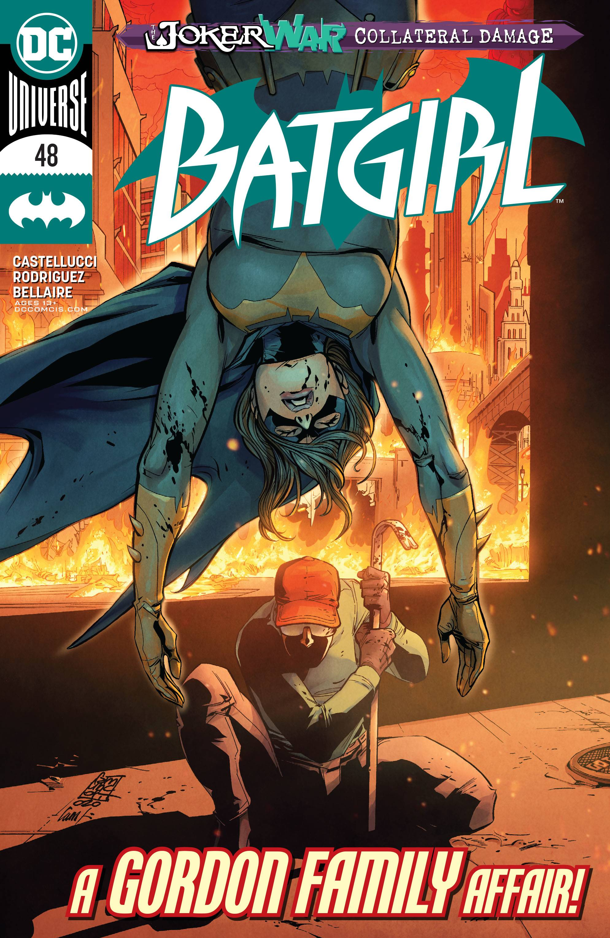 BATGIRL #48 JOKER WAR (RES)