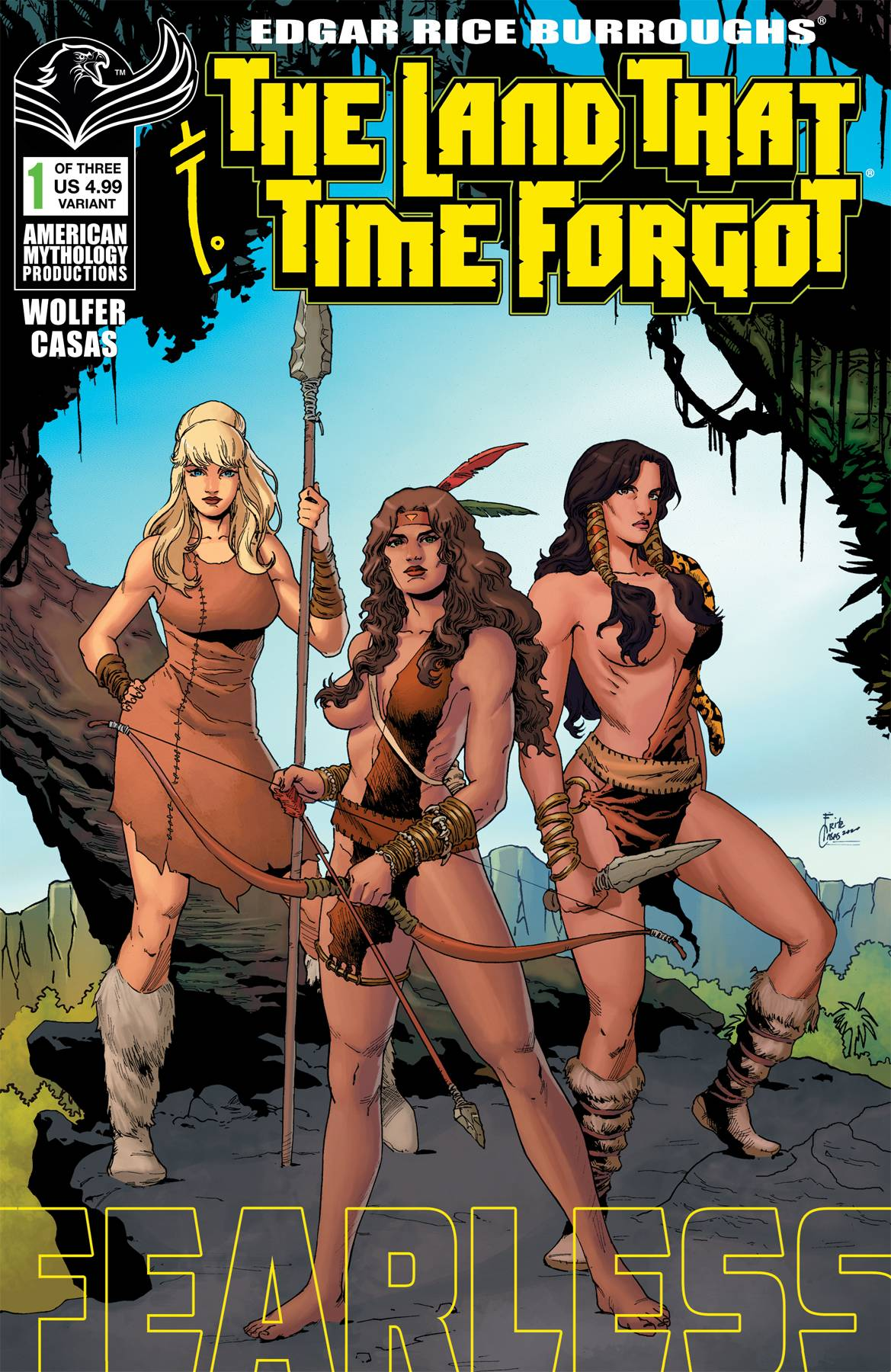 LAND THAT TIME FORGOT FEARLESS #1 CVR B WOLFER (RES)