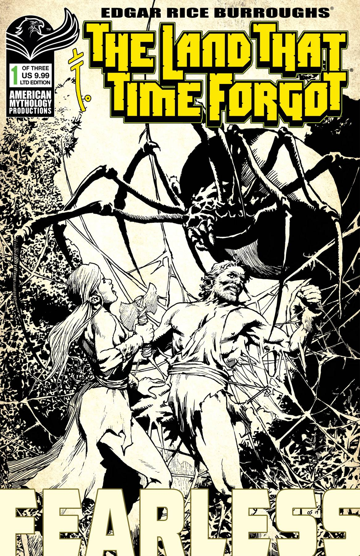 LAND THAT TIME FORGOT FEARLESS #1 CVR C MARTINEZ (RES)