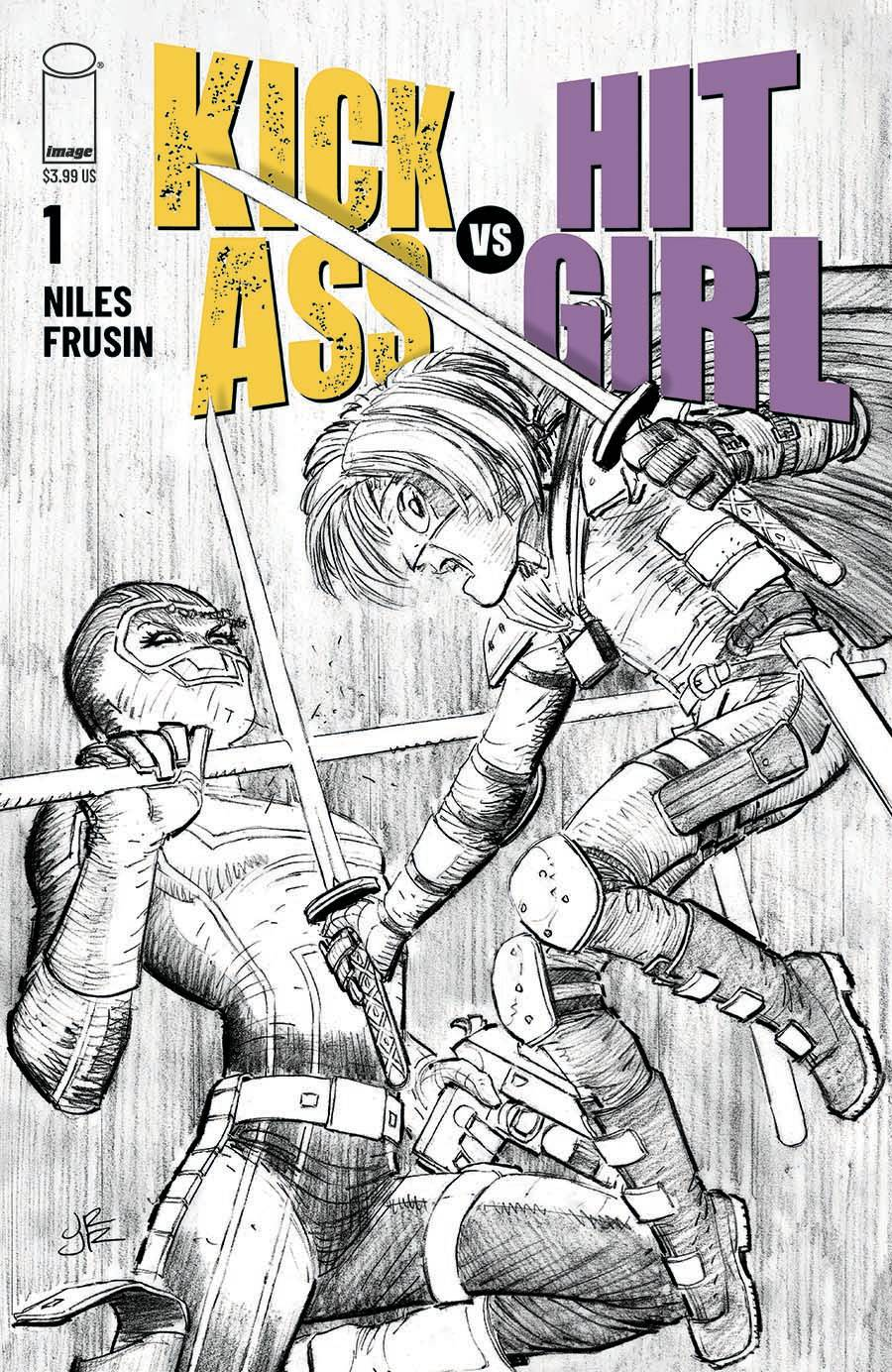 KICK-ASS VS HIT-GIRL #1 (OF 5) CVR B ROMITA JR (RES) (MR)