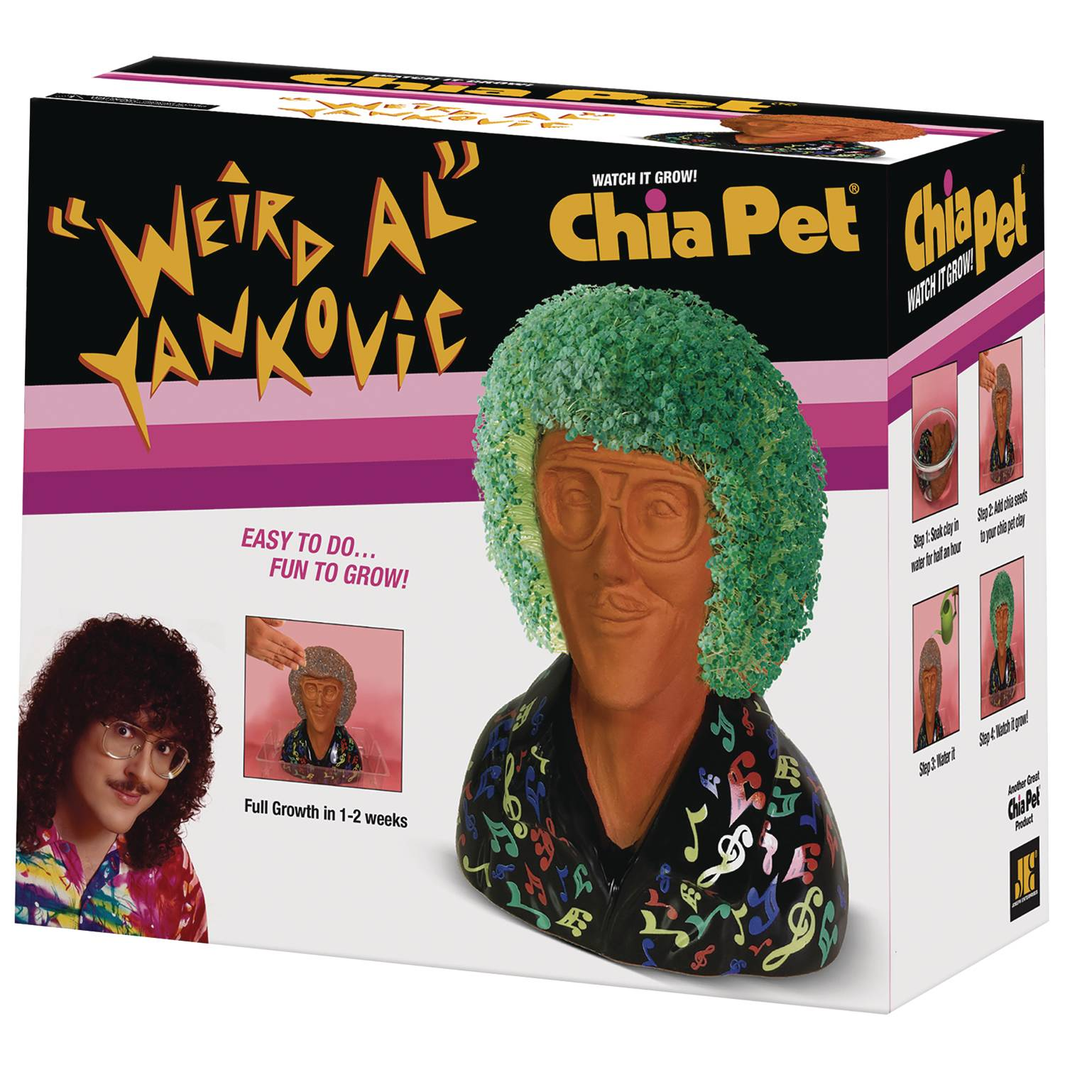 CHIA PET WEIRD AL YANKOVIC