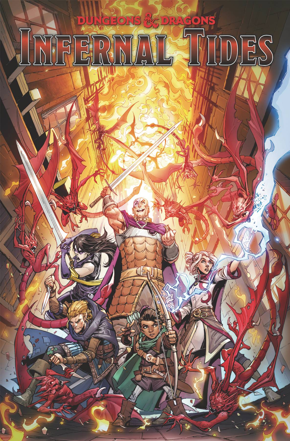 DUNGEONS & DRAGONS INFERNAL TIDES TP