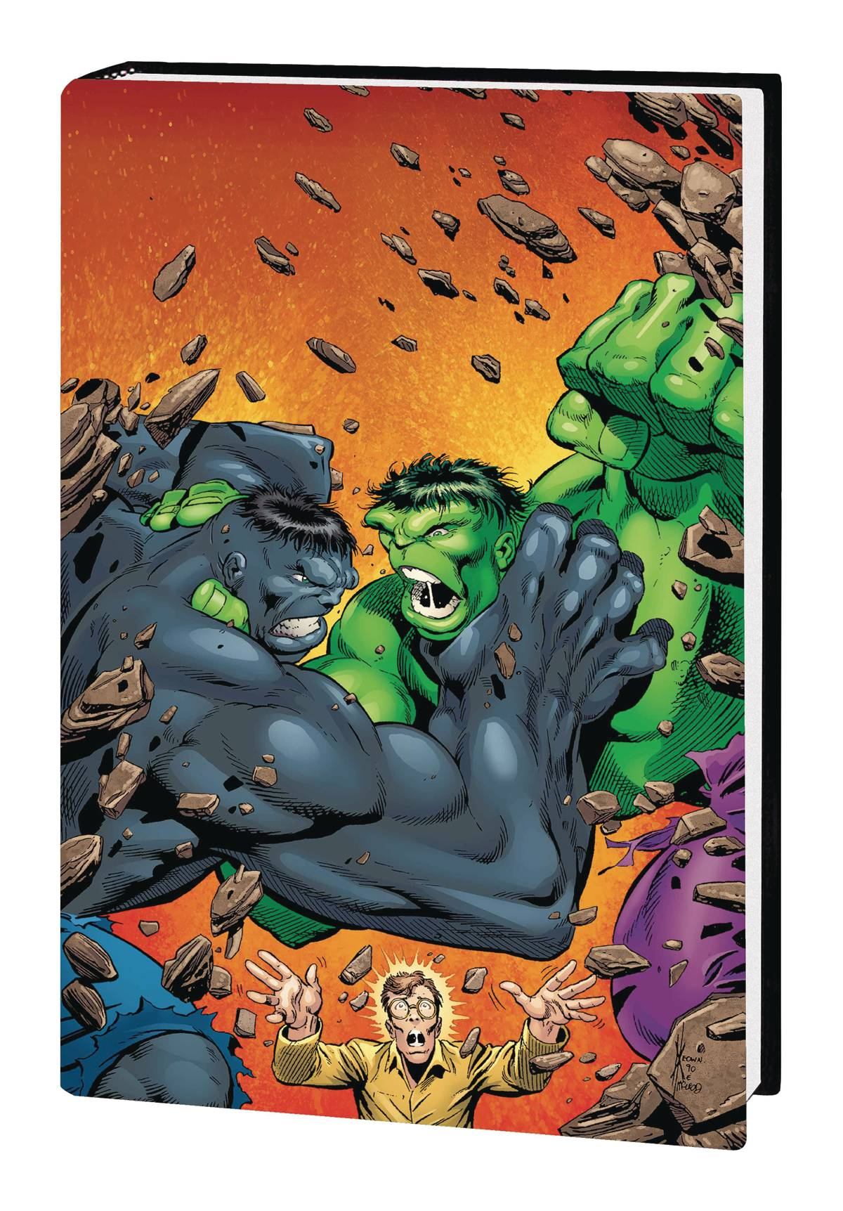 INCREDIBLE HULK BY PETER DAVID OMNIBUS HC VOL 02 KEOWN HULK