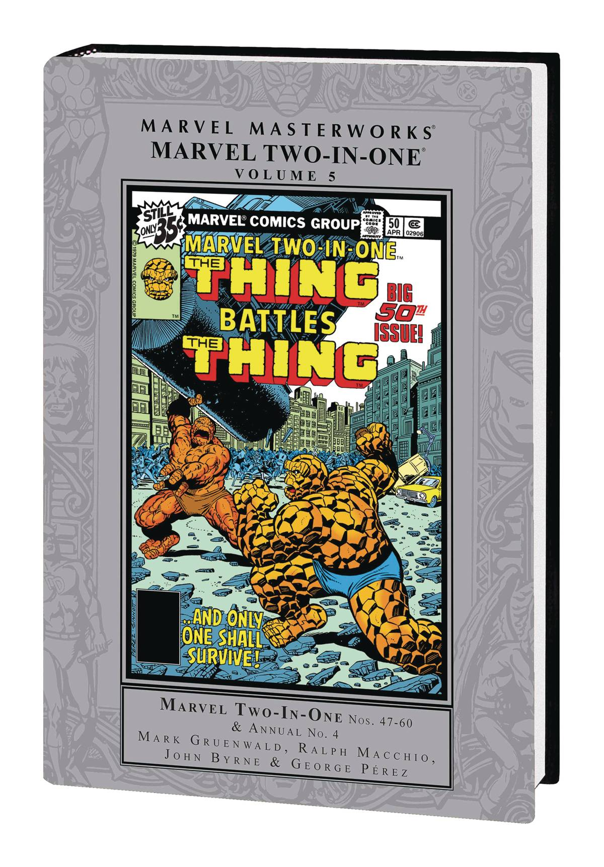 MMW MARVEL TWO IN ONE HC VOL 05
